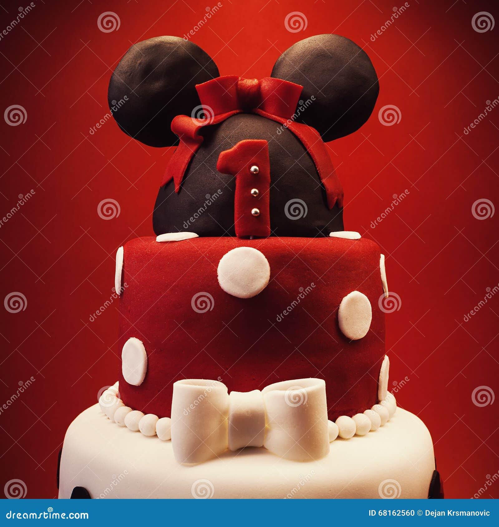 Birthday Cake For Baby Girl Stock Photo Image Of Conceptual