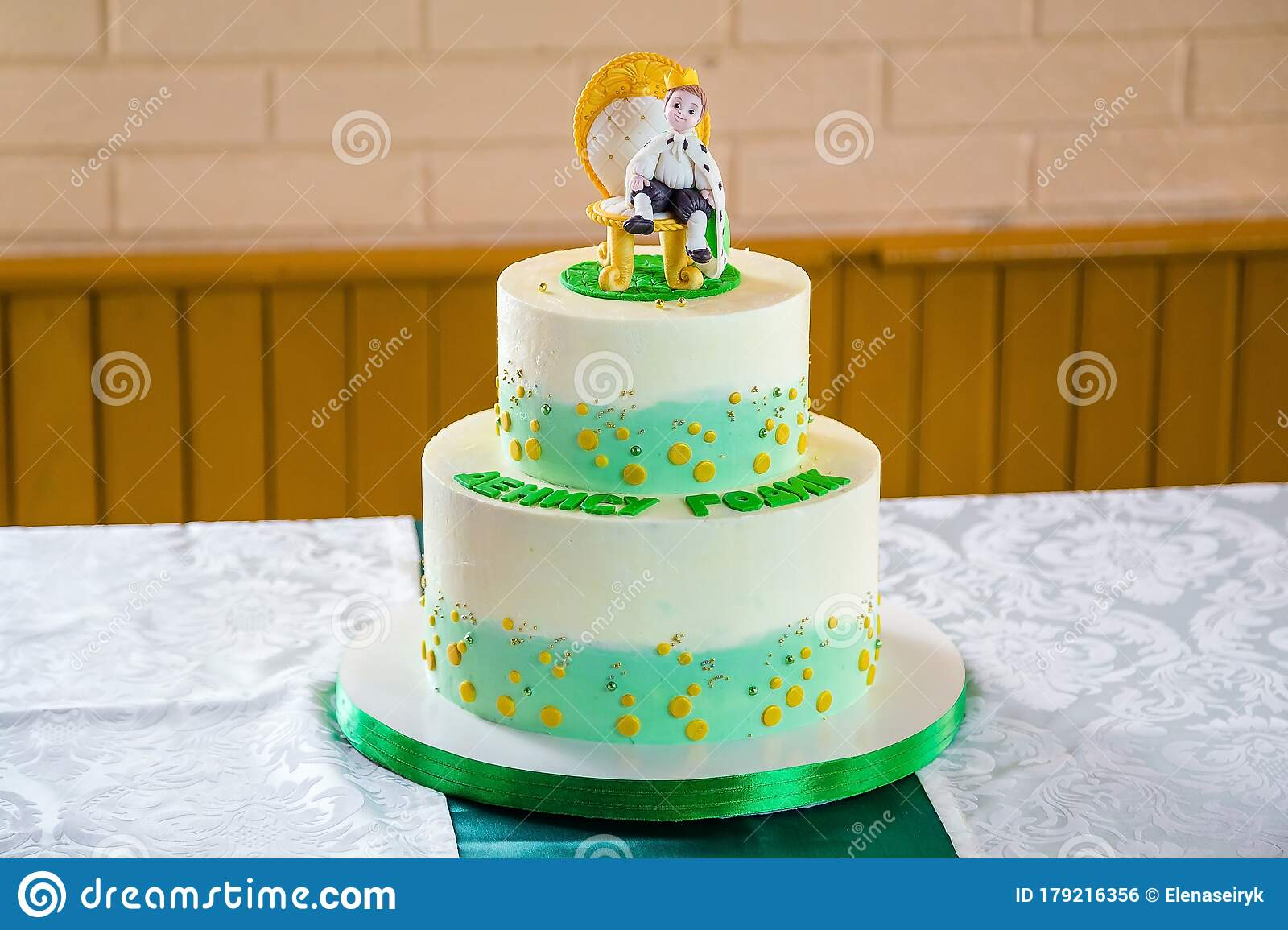 Super Birthday Cake For Boy With Little Prince Character Sugar Mastic Funny Birthday Cards Online Inifodamsfinfo