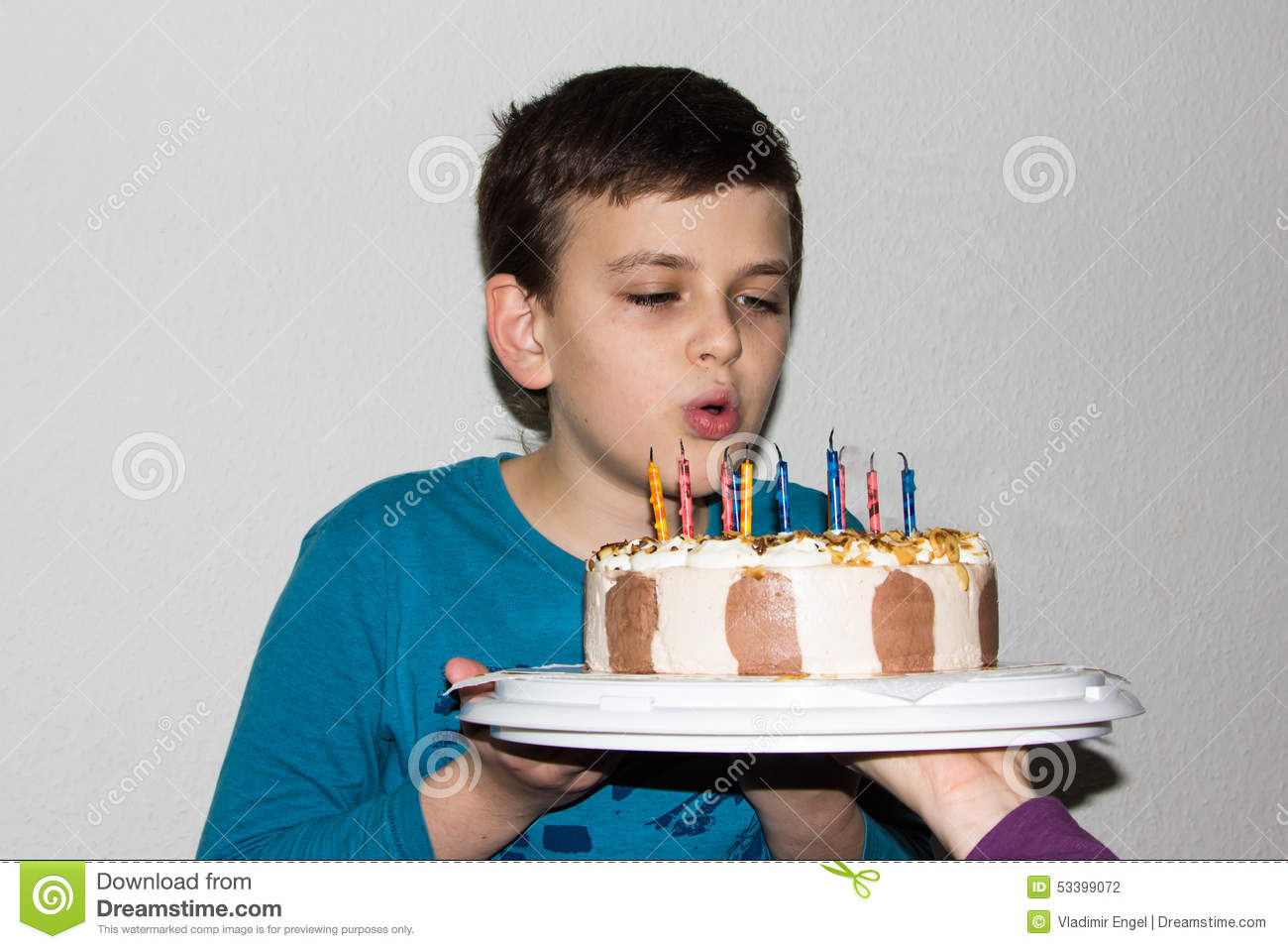 Surprising Birthday Cake Candles Happy Birthday Boy Congratulation Child Personalised Birthday Cards Veneteletsinfo
