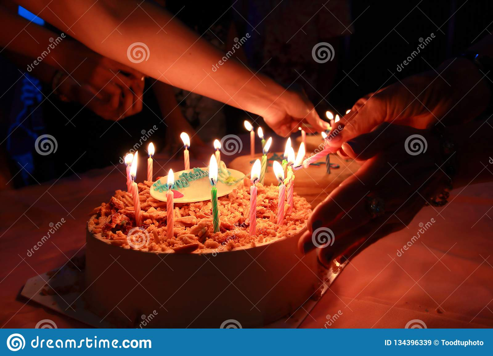 Wondrous Birthday Cake With Celebration Party Happy Birthday To Your Funny Birthday Cards Online Elaedamsfinfo