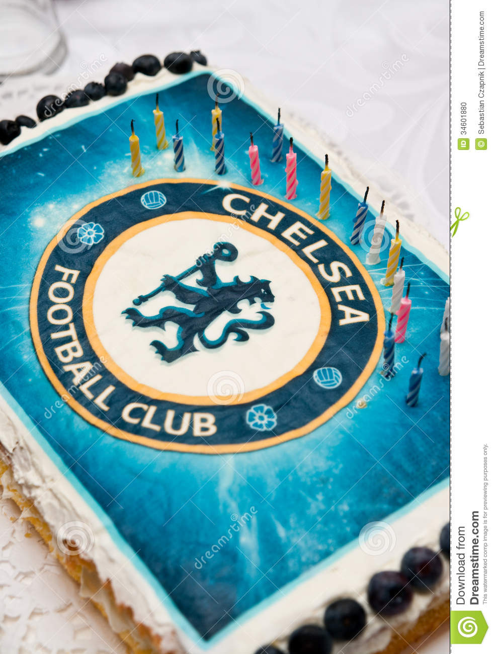 Club  Chocolate Birthday Cake