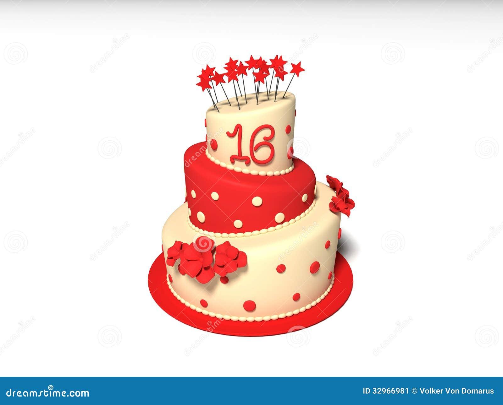 Birthday Cake Stock Image - Image: 32966981