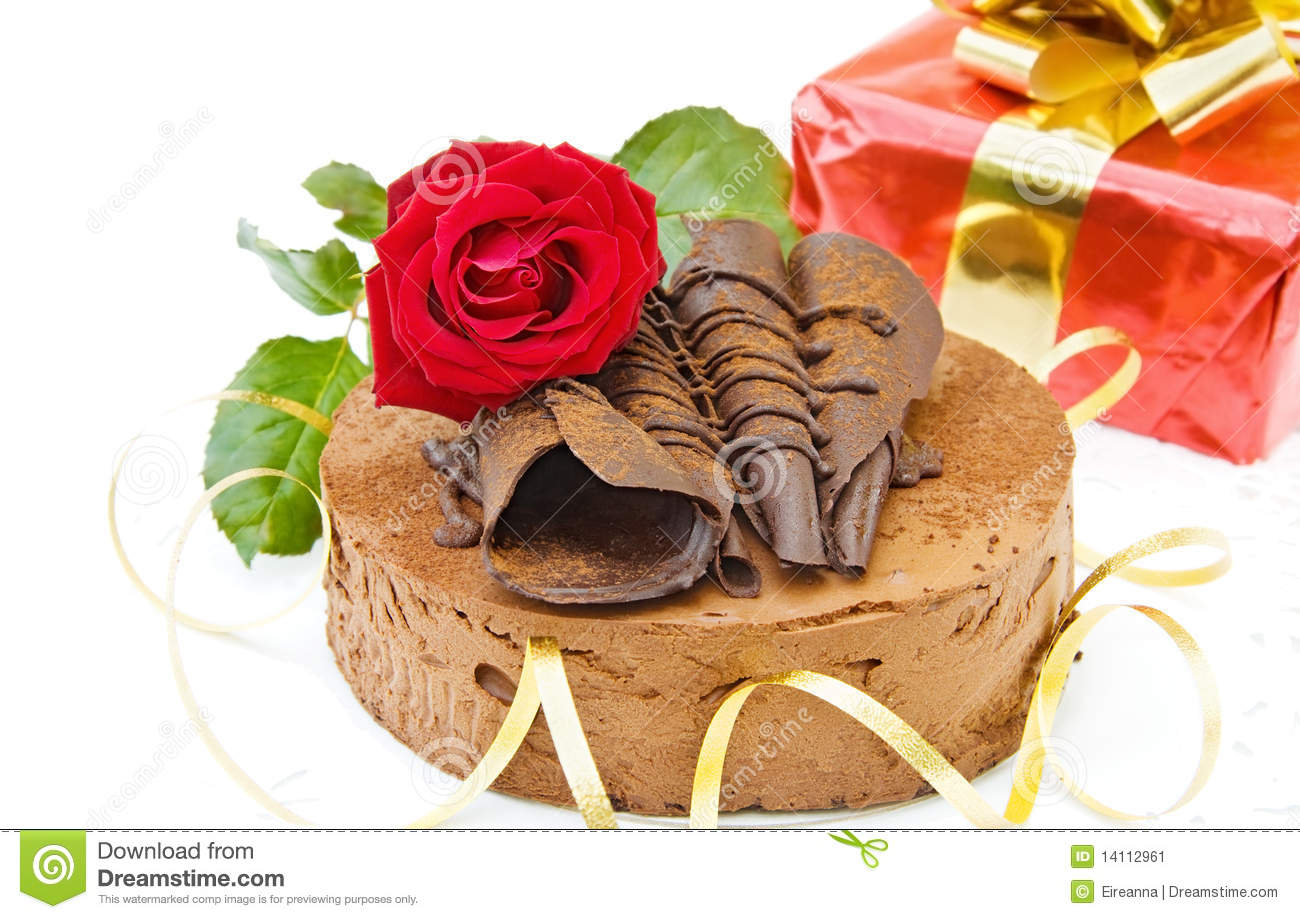 Birthday Cake Gift Images : Birthday Cake And Gift Stock Image - Image: 14112961