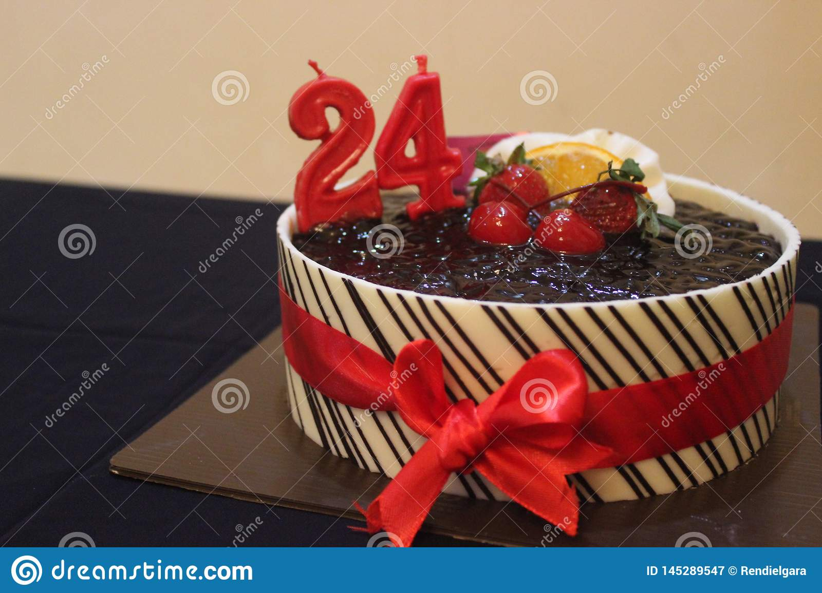 Awesome Birthday Cake 24 Stock Image Image Of Cake Happy Chocolate Personalised Birthday Cards Veneteletsinfo