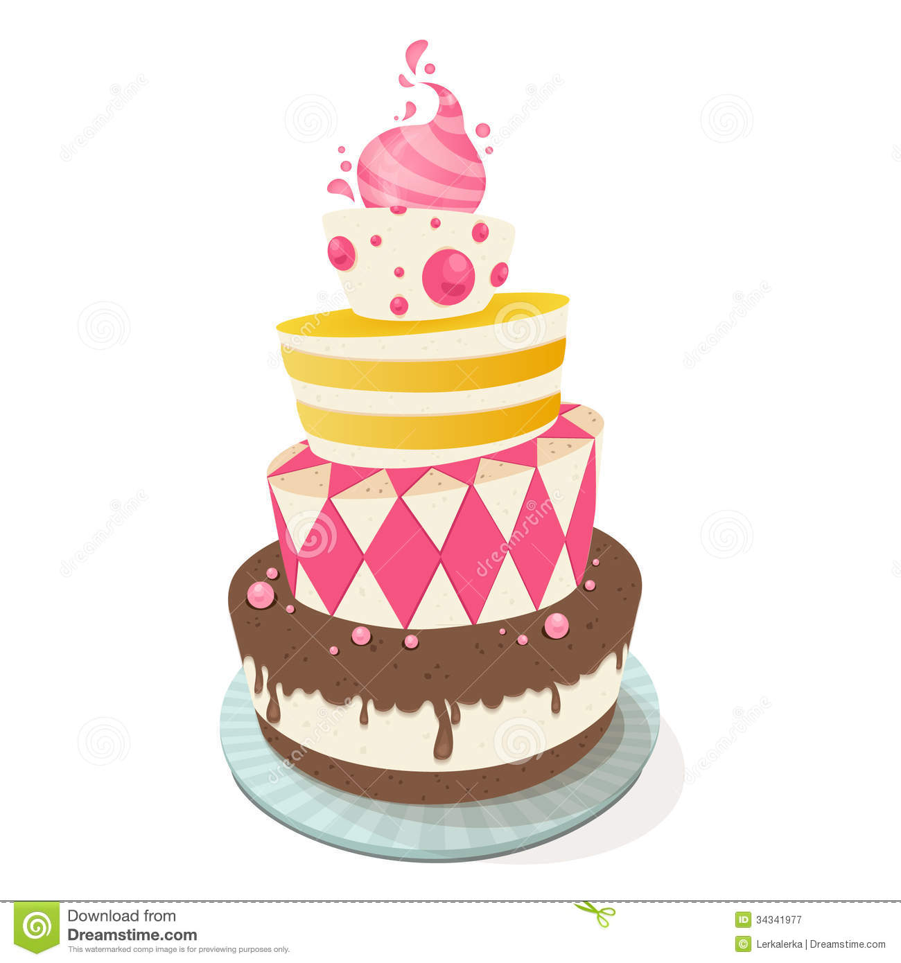 Cake Illustration Pictures to Pin on Pinterest - PinsDaddy