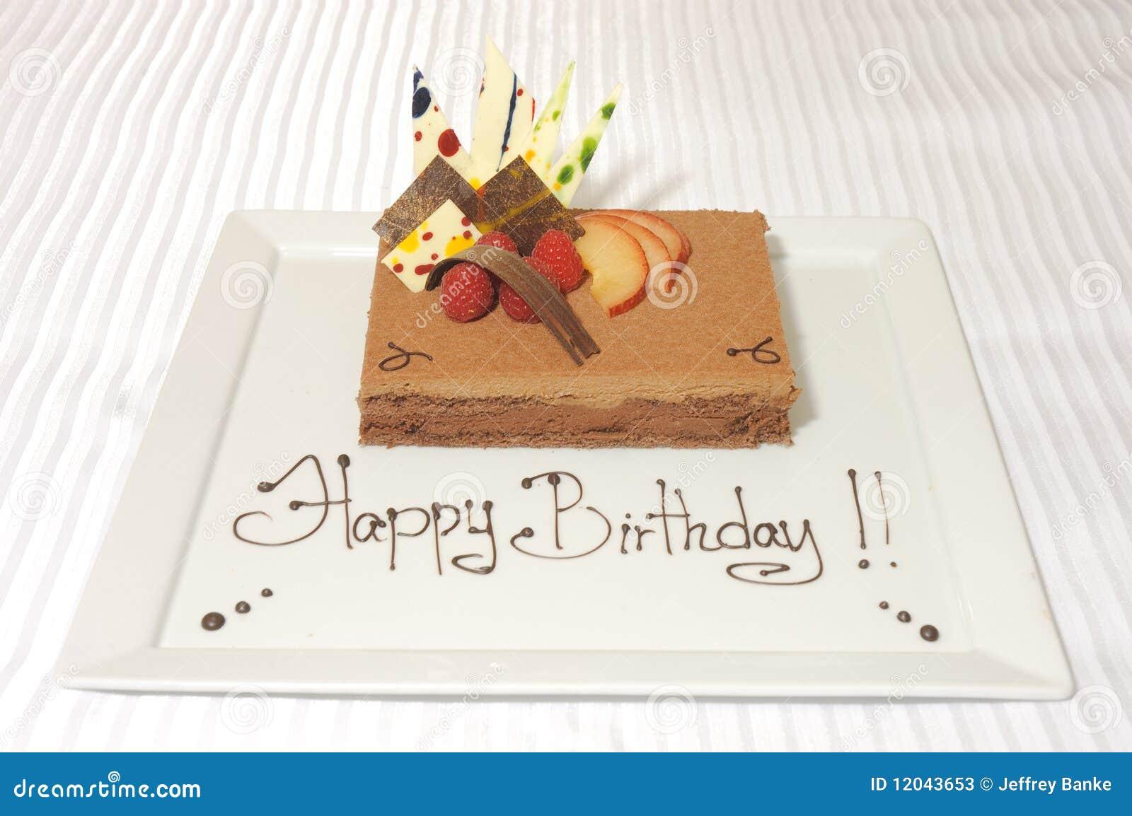 Birthday cake mousse