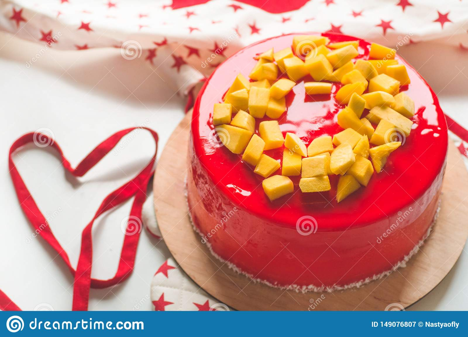 Strange Birthday Cake With One Candle And Red Frosting National Bakery Funny Birthday Cards Online Benoljebrpdamsfinfo