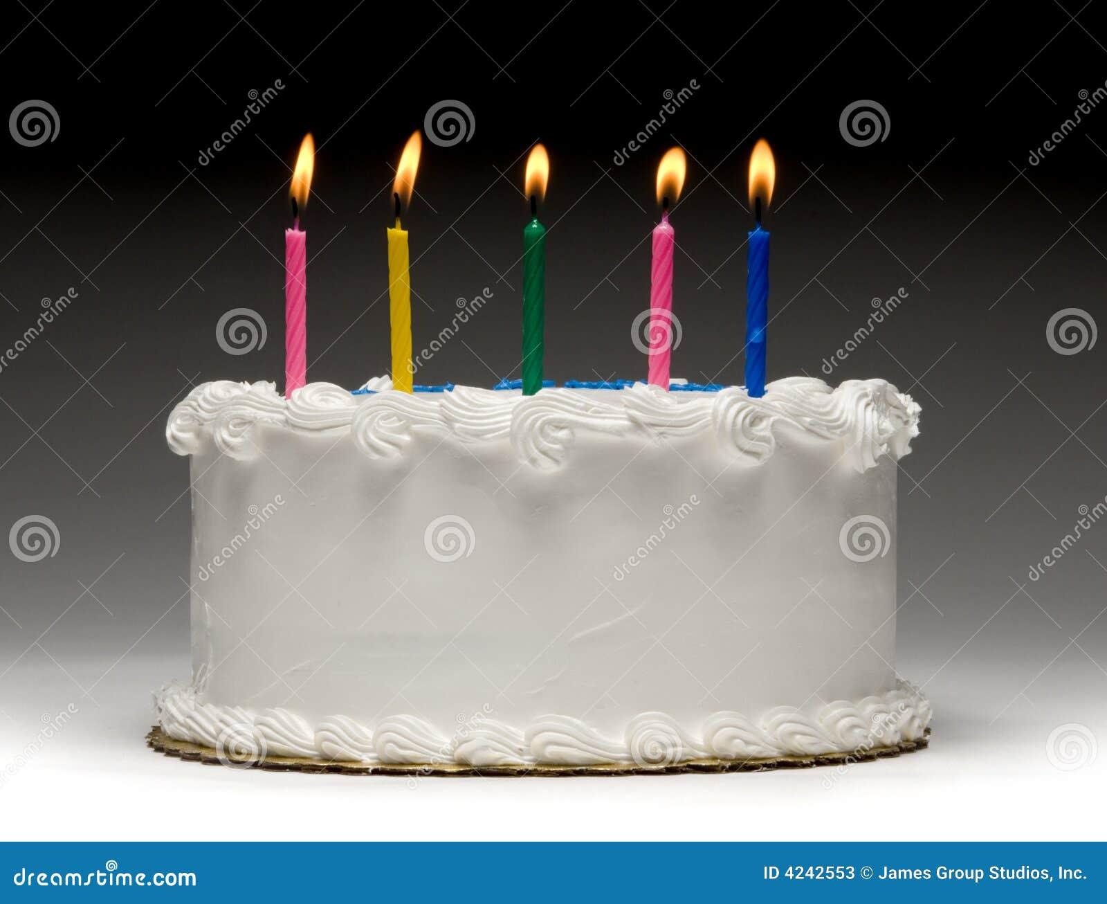 Birthday Cake Profile Stock Photos Image 4242553
