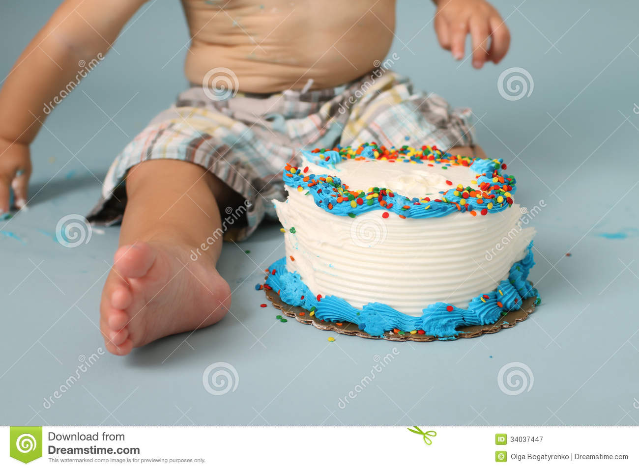 Smashed Cake Clipart : Birthday Cake Smash Royalty Free Stock Photography - Image ...