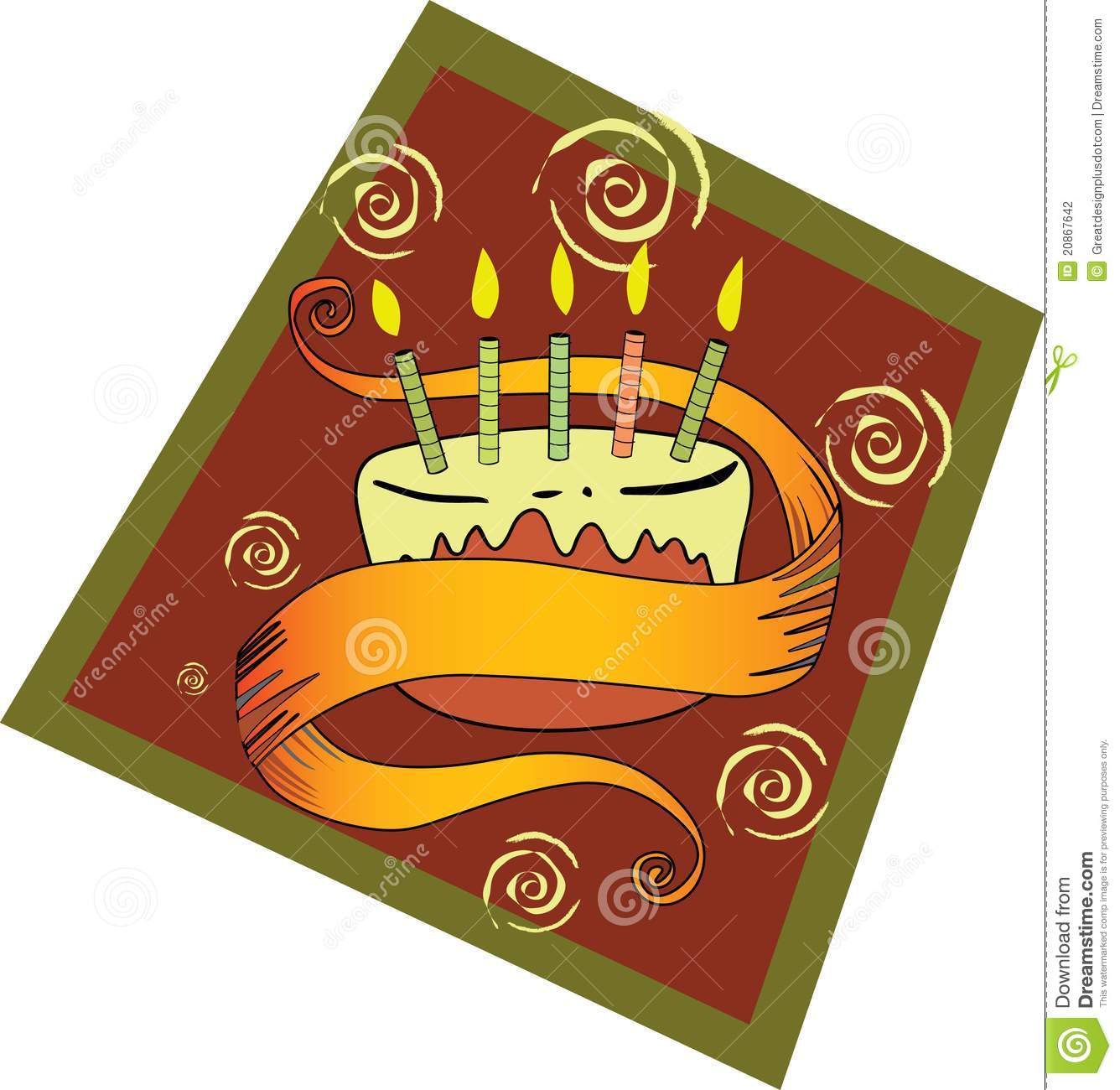 Birthday Cake! Vector / Clip Art Stock Photography - Image: 20867642