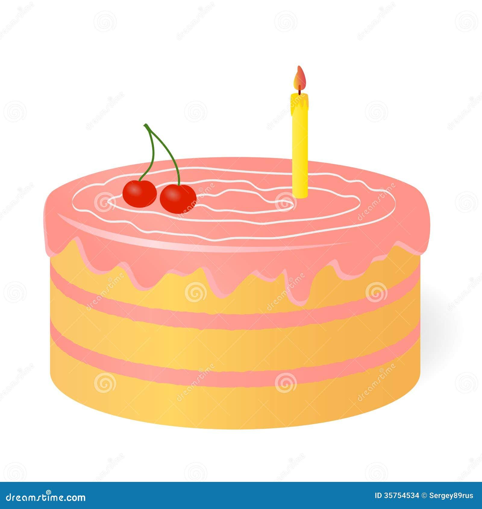 Birthday Cake. Stock Images - Image: 35754534
