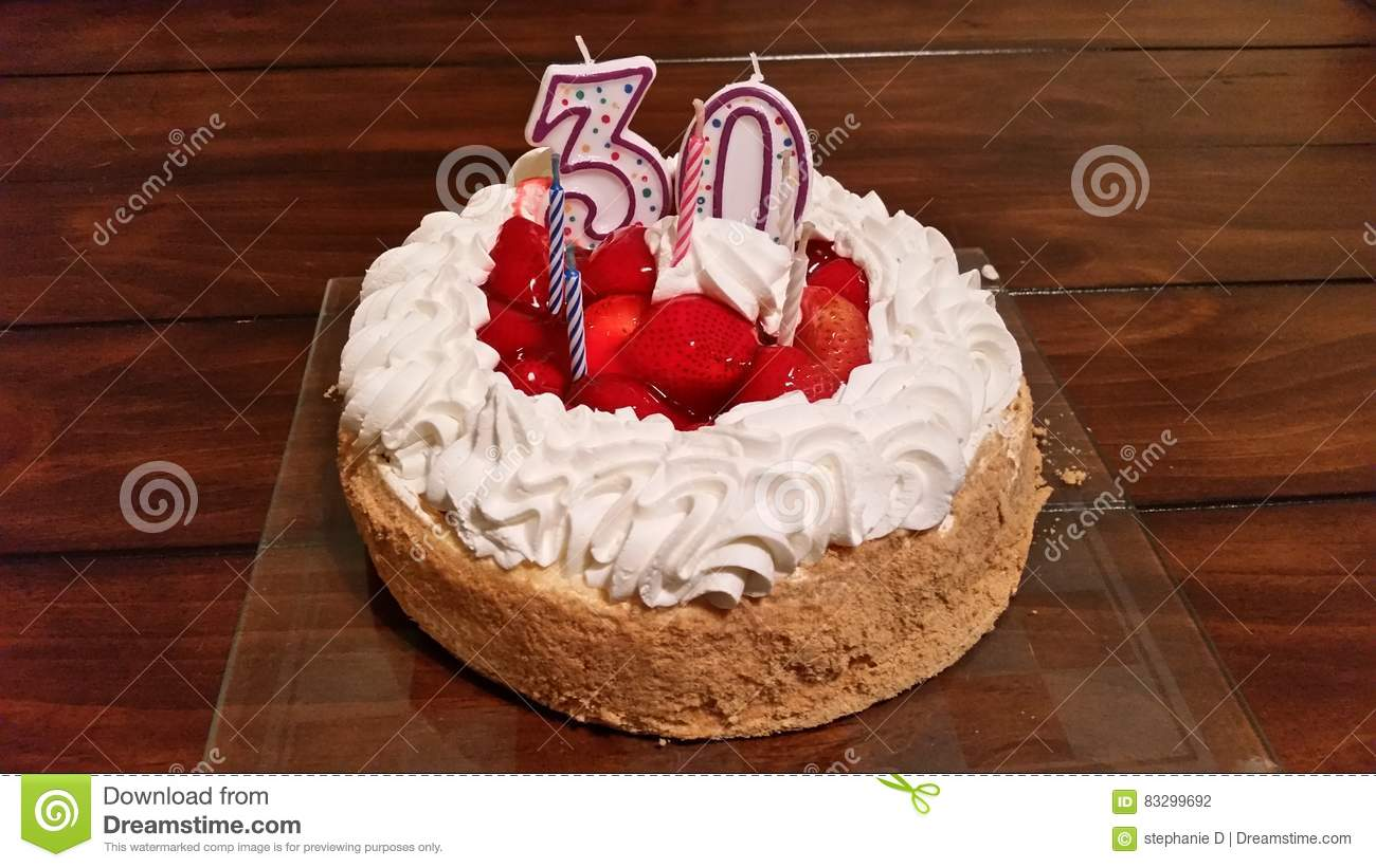 Birthday Cake Stock Photo Image Of Years