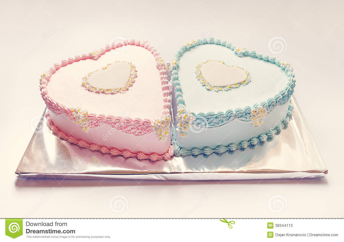 Birthday Cakes Stock Image Image Of Colorful Style