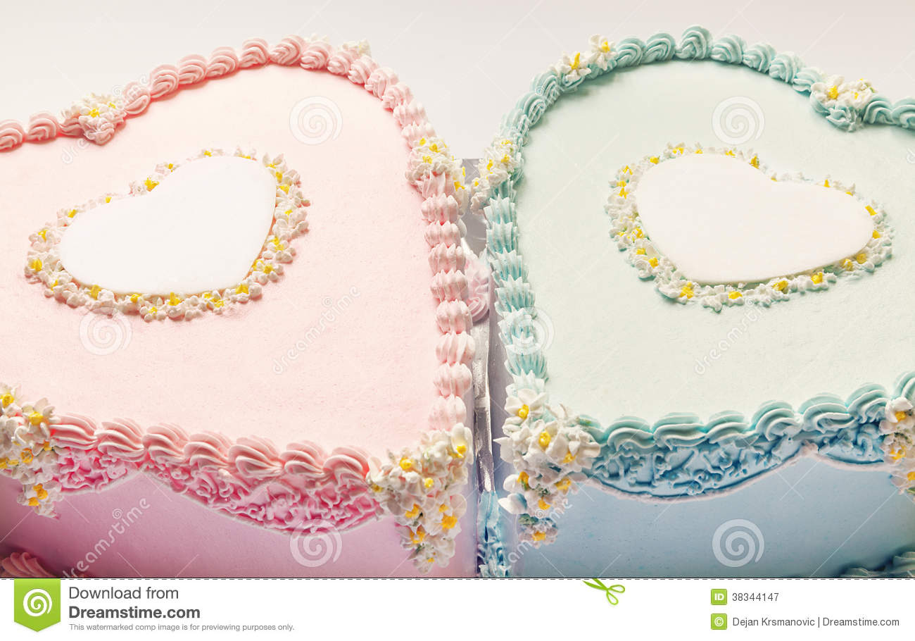 Birthday Cakes Stock Image Image Of Plate Food Design