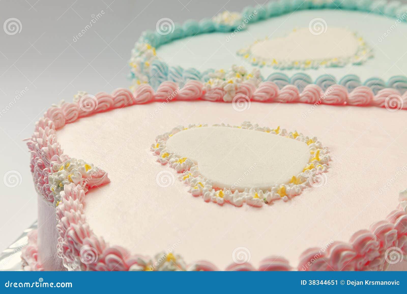 Astounding Birthday Cakes Stock Image Image Of Cream Food Childhood 38344651 Funny Birthday Cards Online Inifodamsfinfo