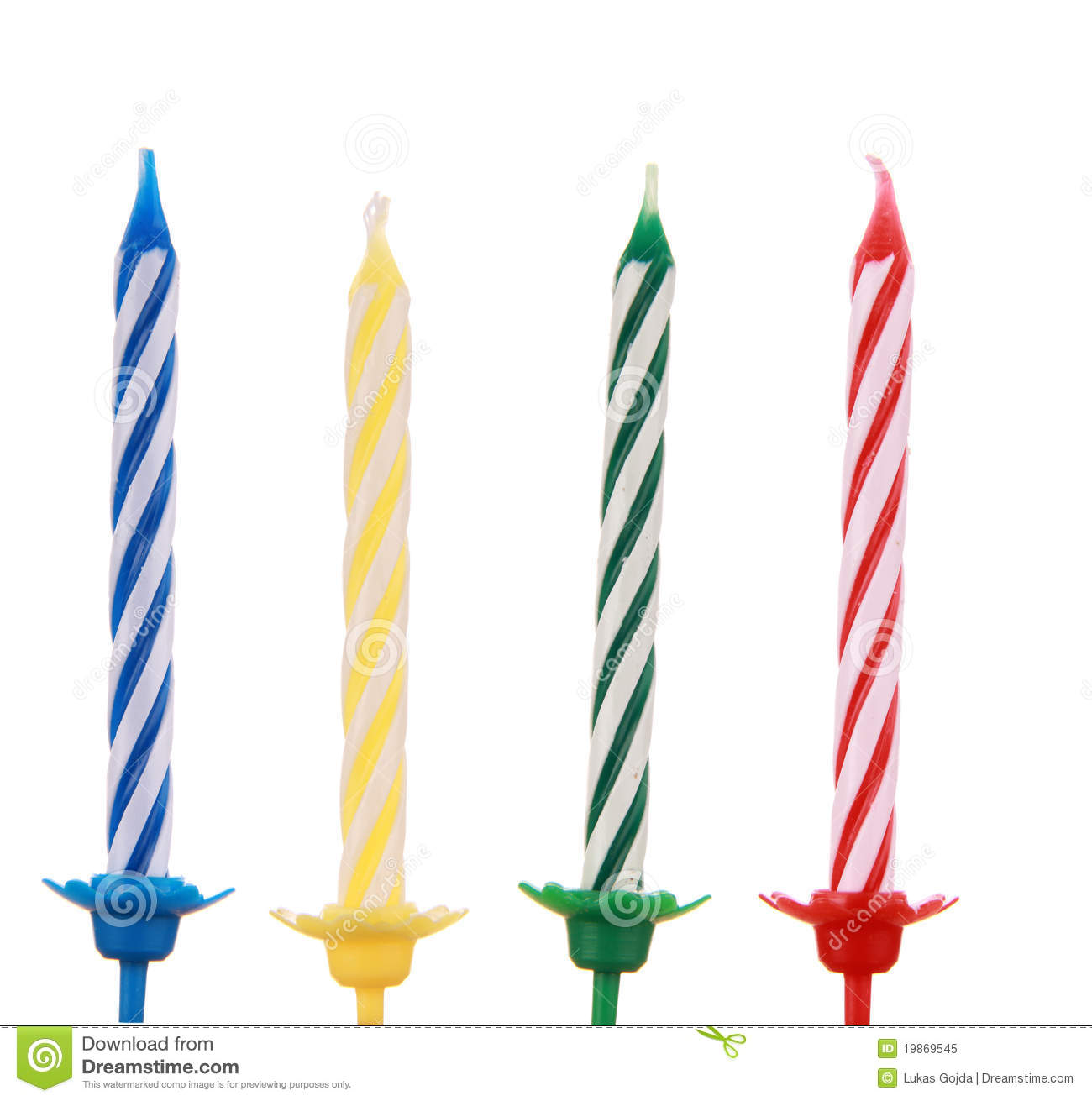 Birthday Candle Royalty Free Stock Photo Image 19869545