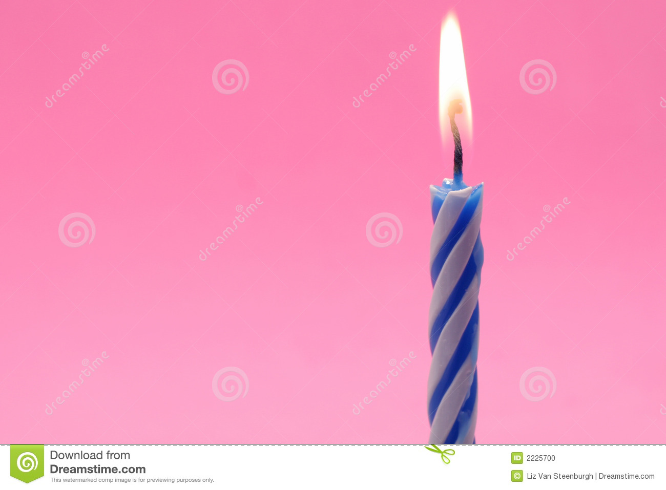 Birthday Candles Stock Photo Image Of Pink Light Flame