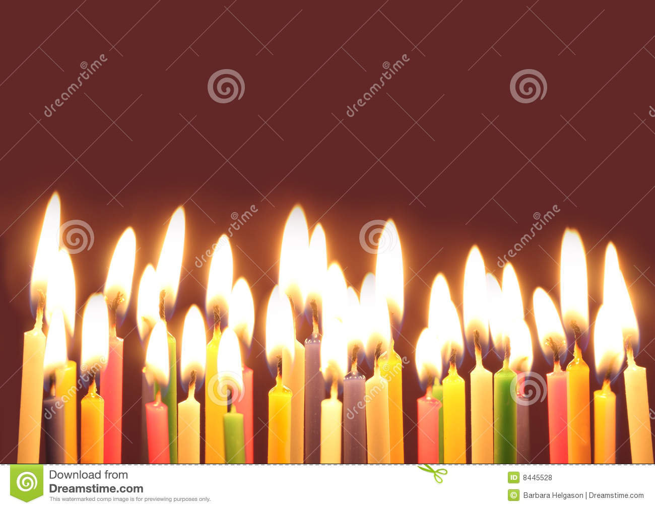 Birthday Candles Stock Photo Image Of Fire Happy