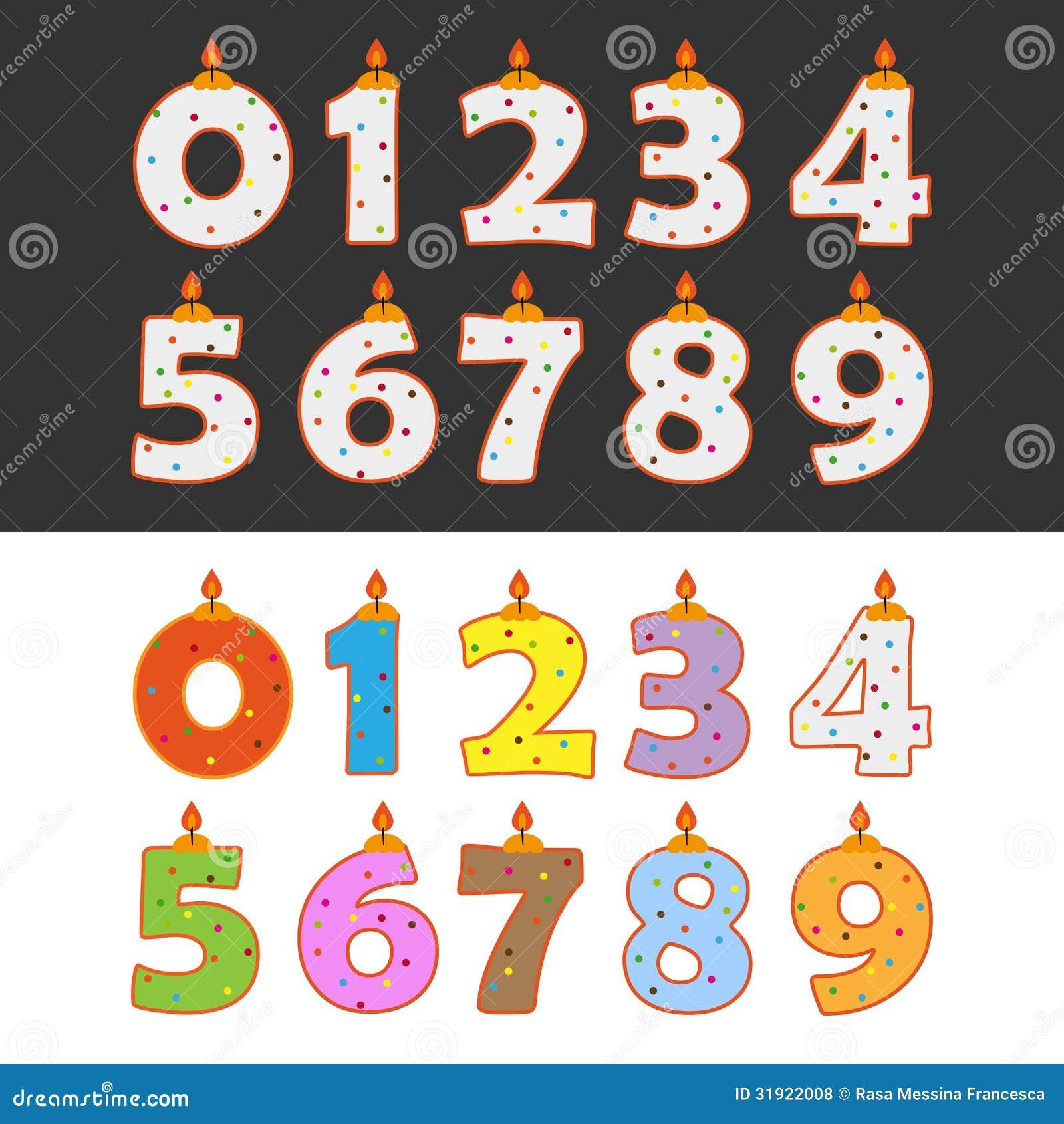 Birthday Candles Royalty Free Stock Photos Image 31922008