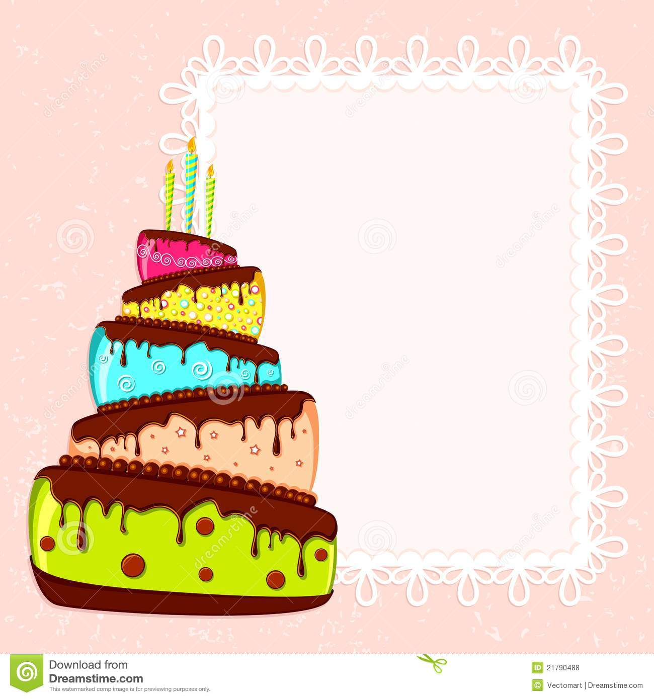birthday card royalty free stock photos