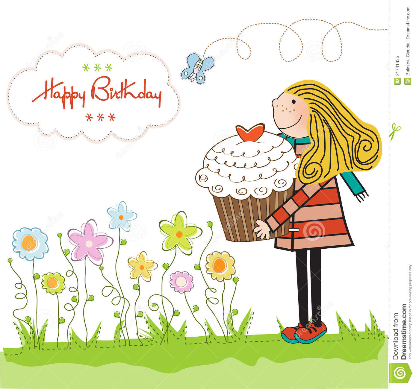 Birthday Cards For Girl gangcraftnet – Birthday Cards Girls