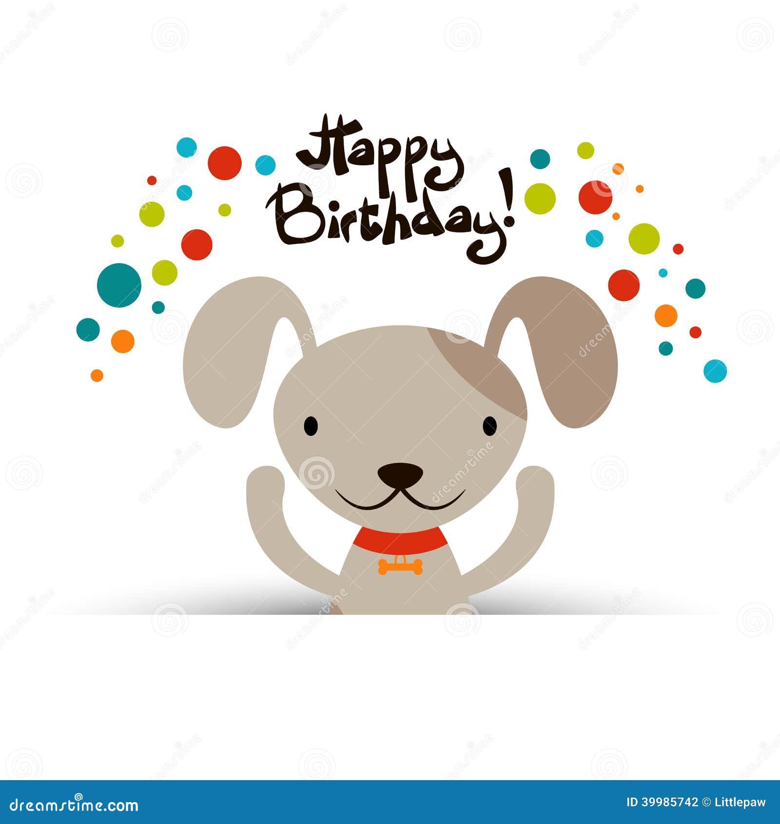 Free Happy Birthday Dog Cards