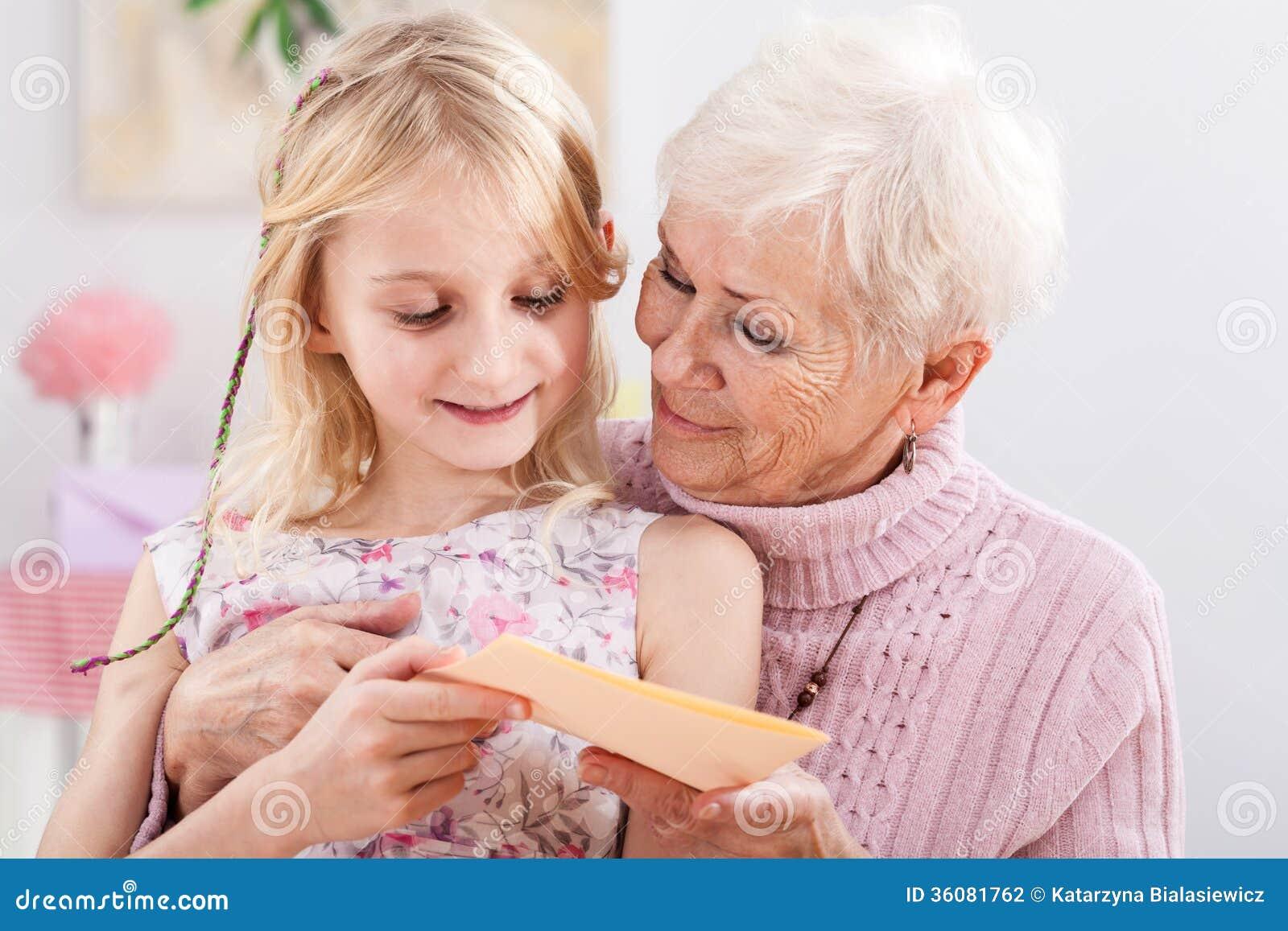 Birthday card for grandma