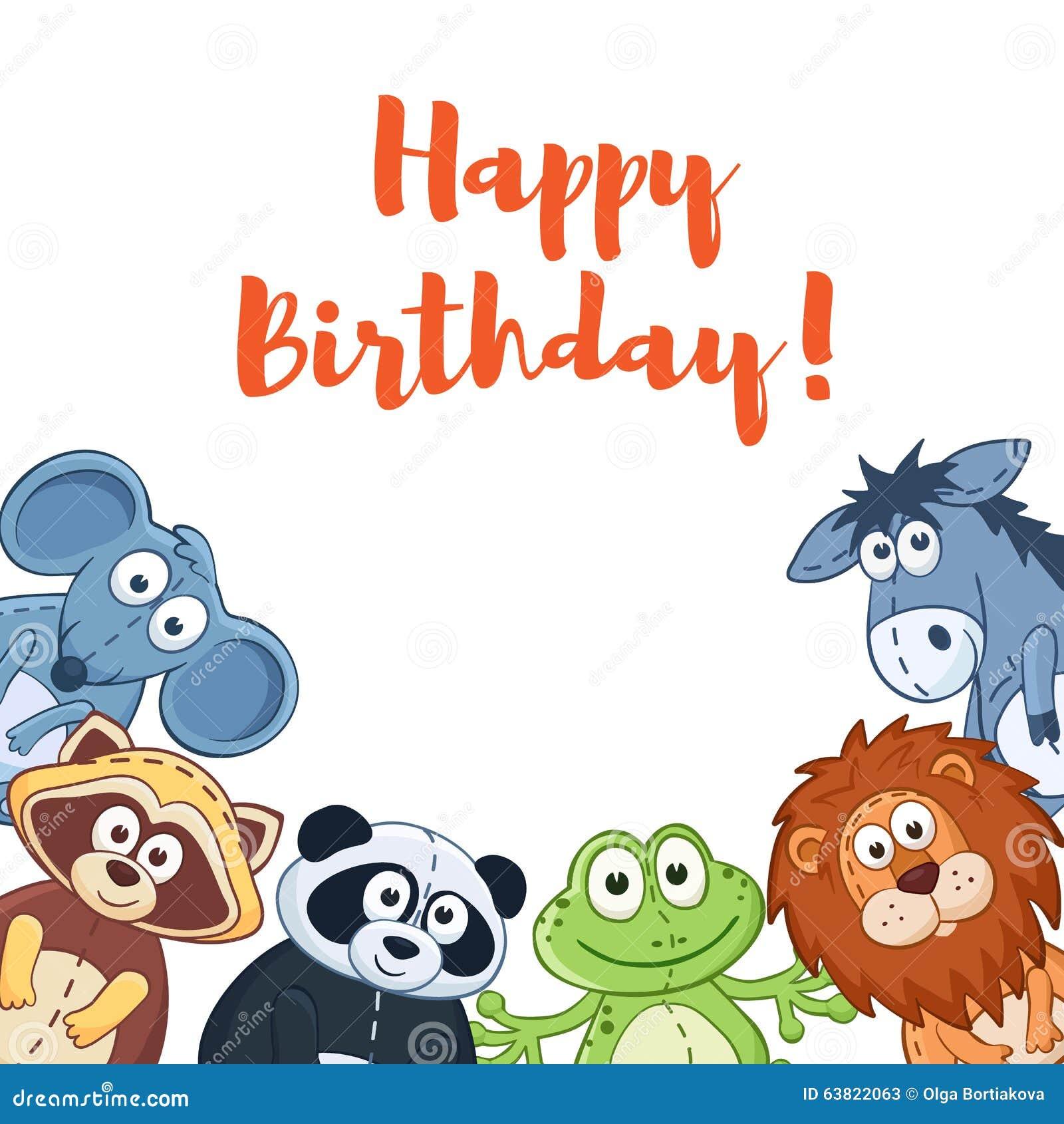 Donkey Birthday Cartoon Photo Image 29342220 – Donkey Birthday Card