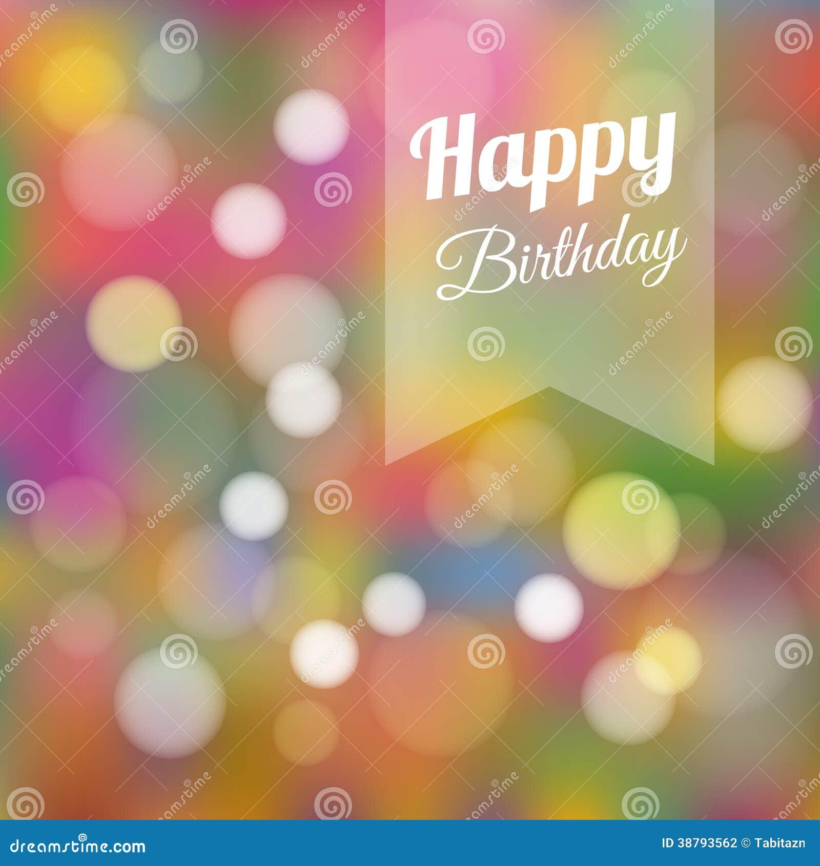 Birthday Card Invitation, Background Stock Vector - Image ...