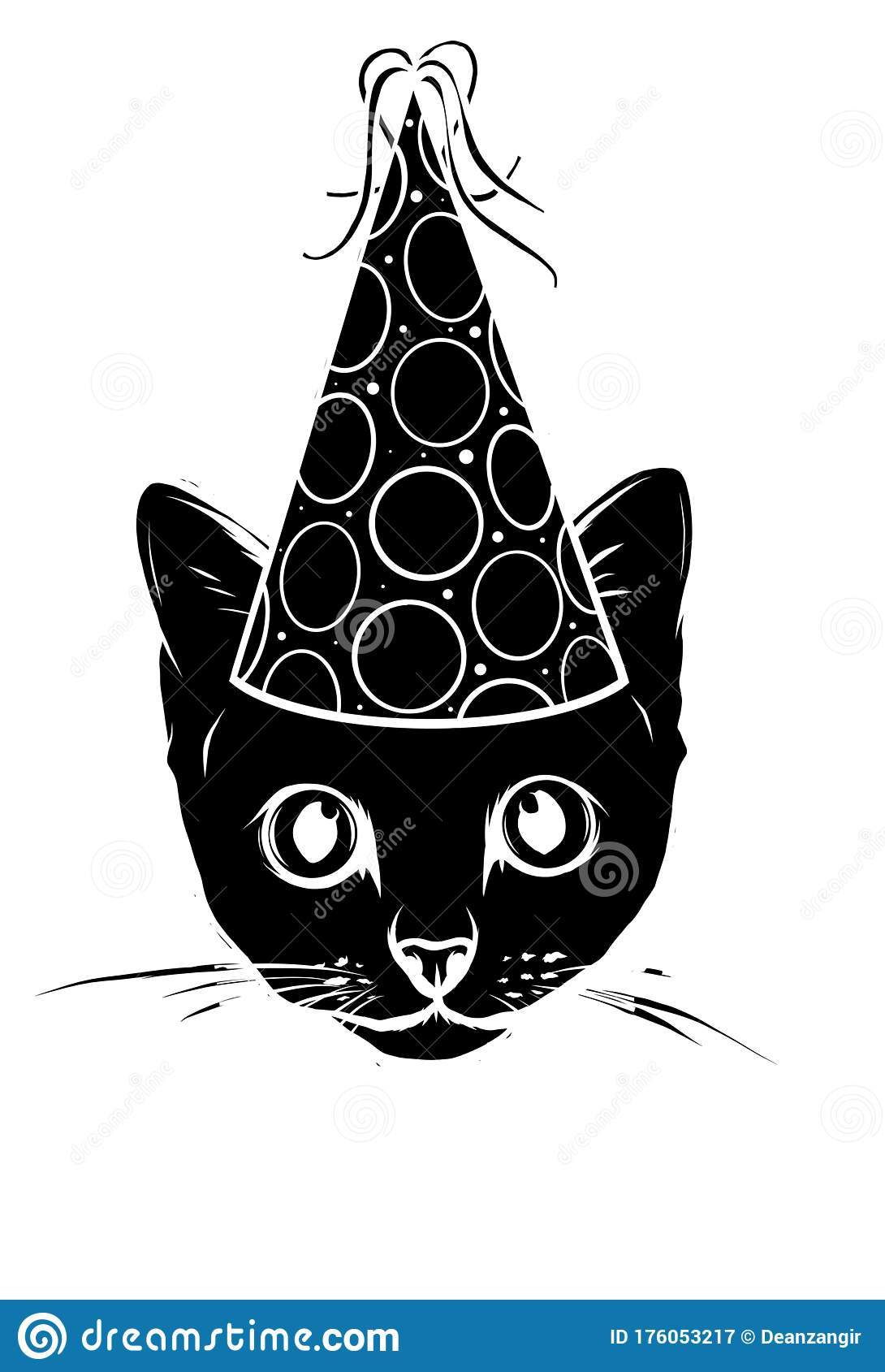 Get Cartoon Party Hat And Confetti Gif