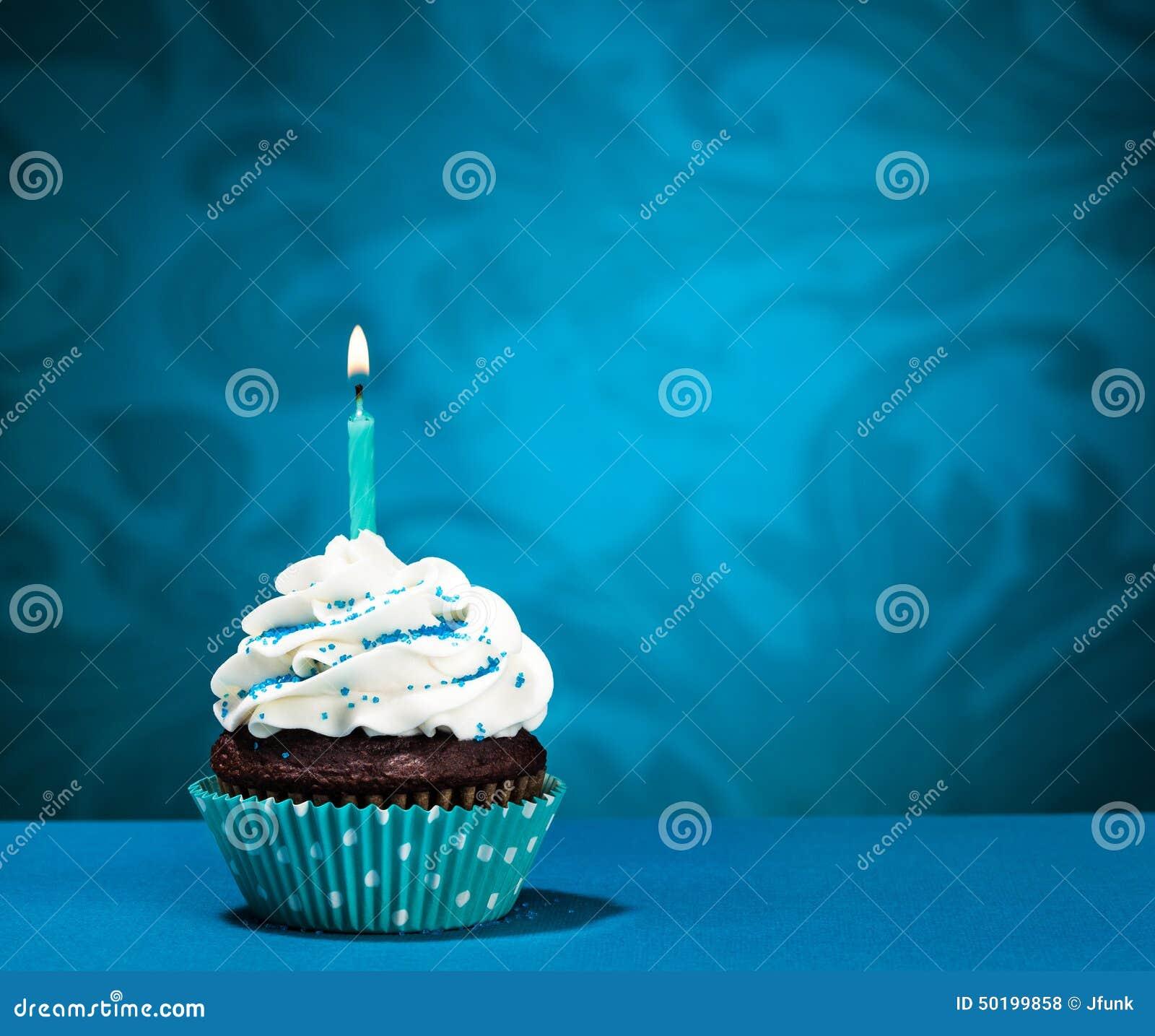 Birthday Cupcake stock photo Image of cupcake buttercream 50199858