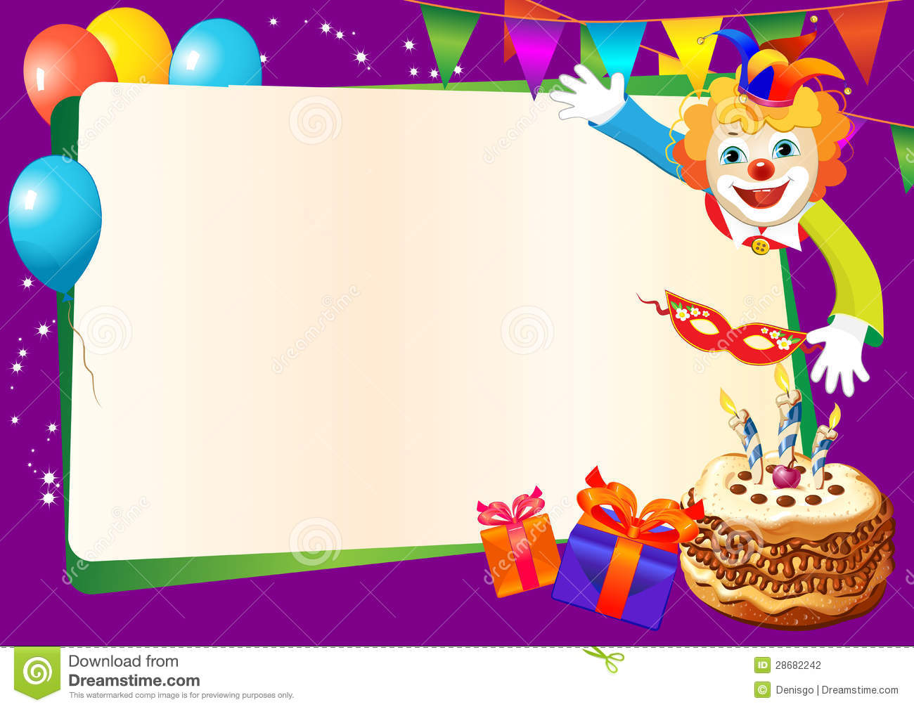 Party Invitation Maker Free with beautiful invitation layout