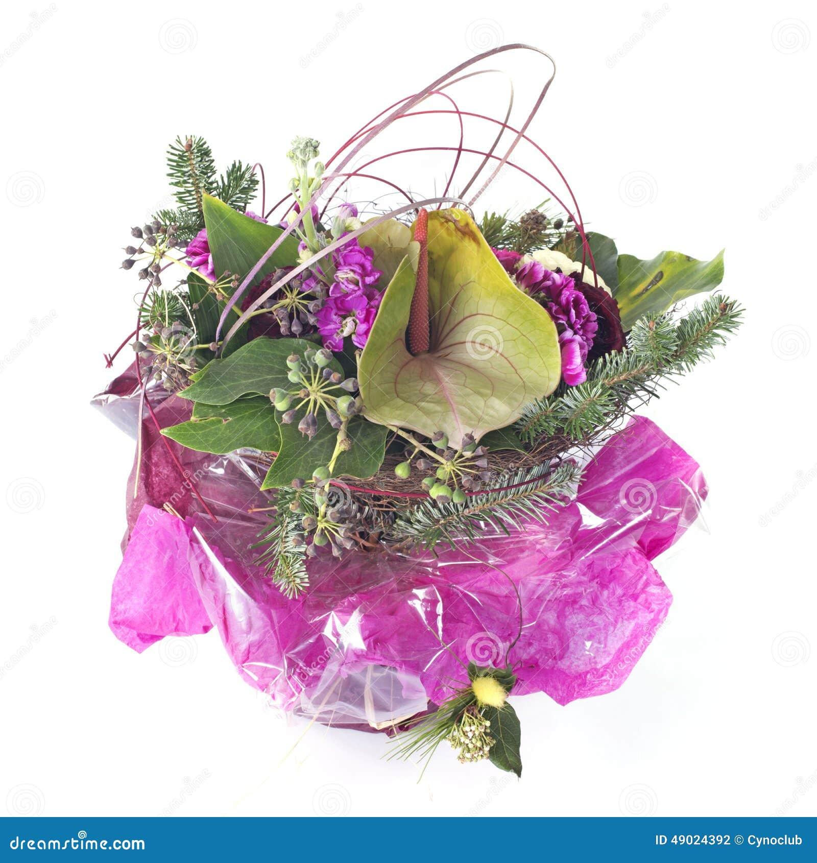 Birthday Flowers Stock Photo Image Of Studio Flower 49024392