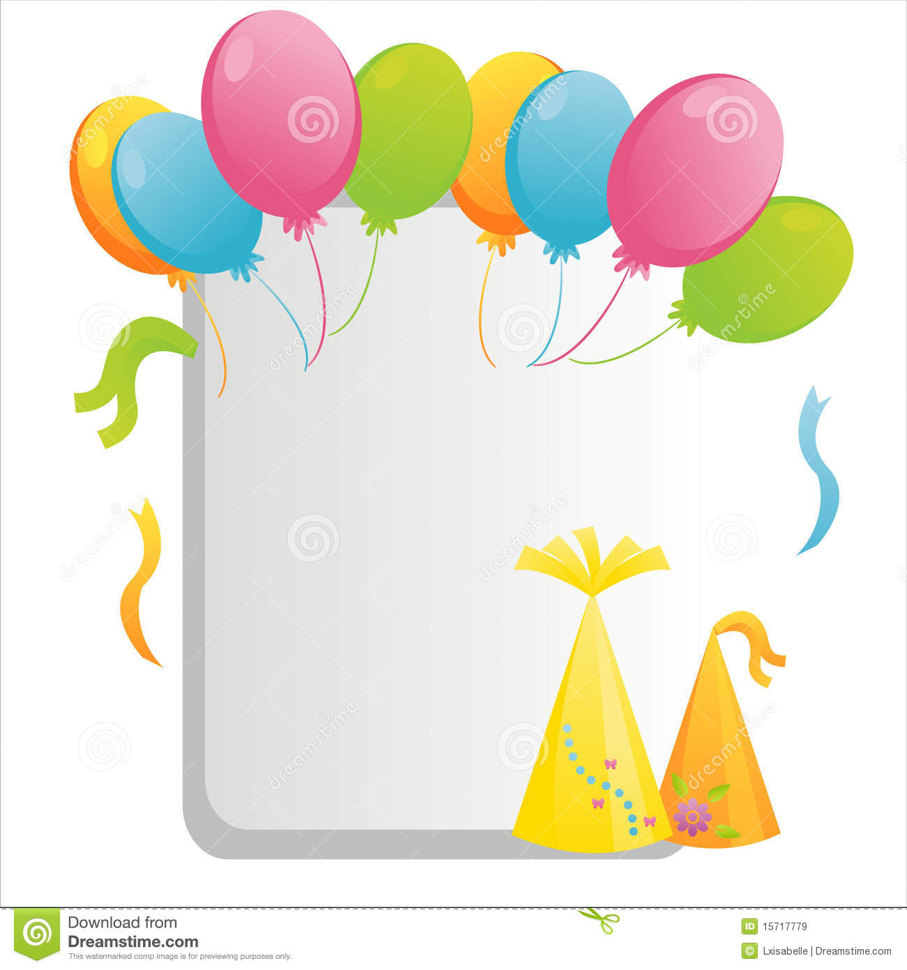 Birthday Frame Royalty Free Stock Images - Image: 15717779