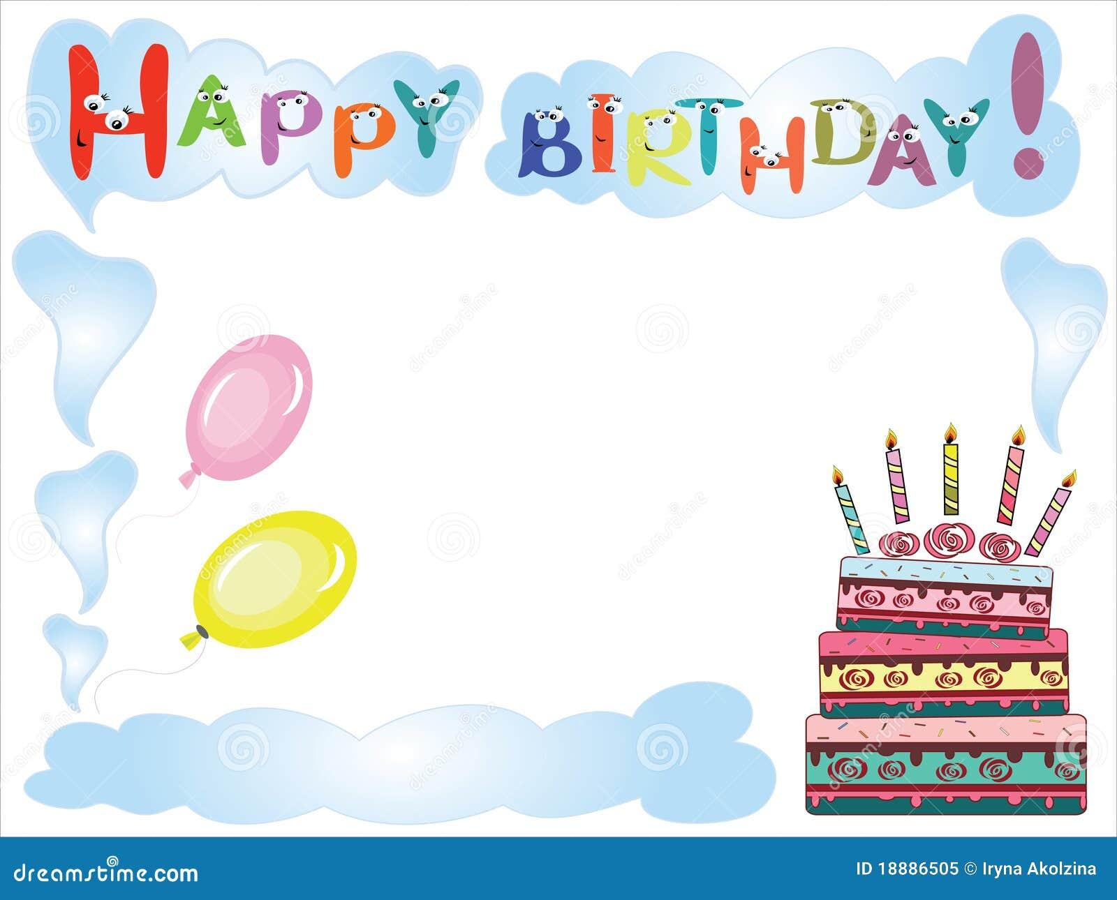 Birthday Frame Royalty Free Stock Photo - Image: 18886505