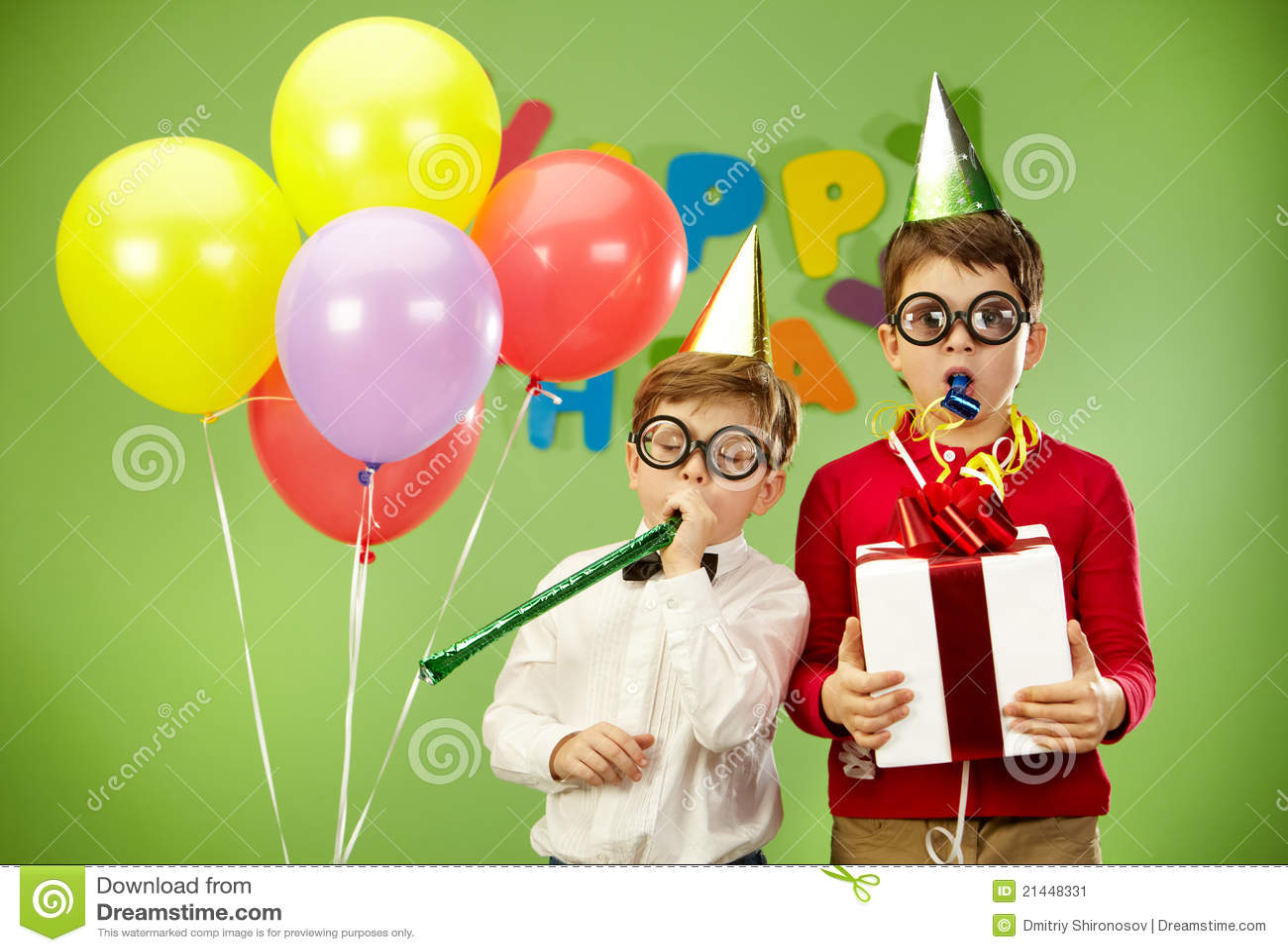 Birthday Fun Stock Image - Image: 21448331
