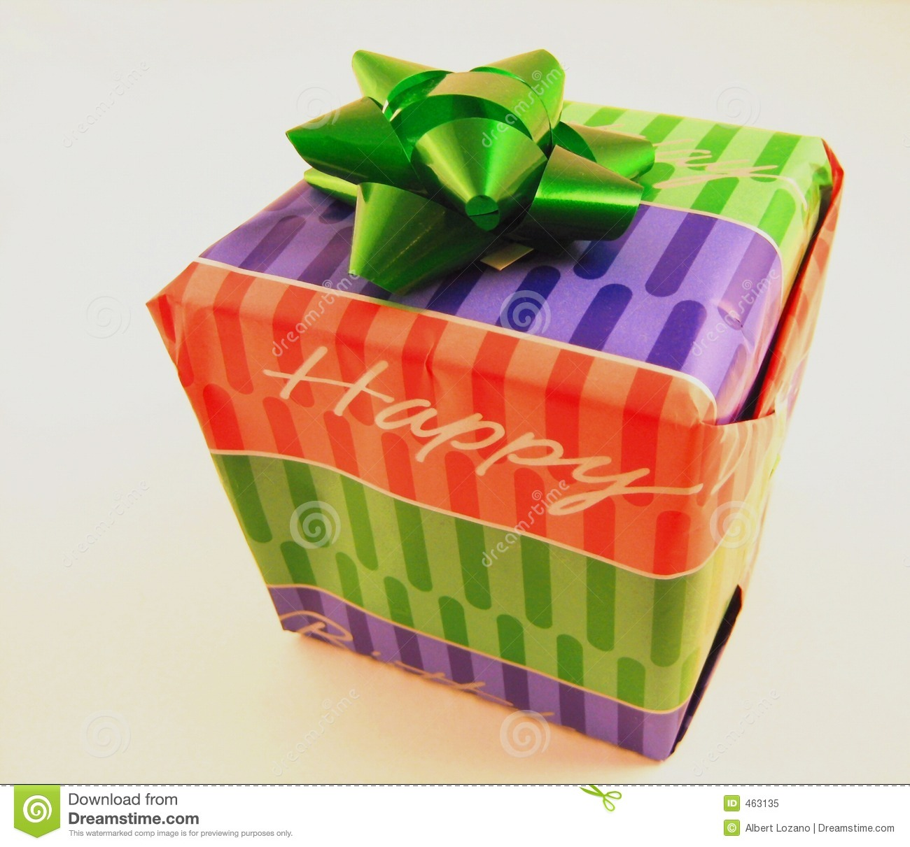 Birthday Gift Stock Image. Image Of Giving, Excitement