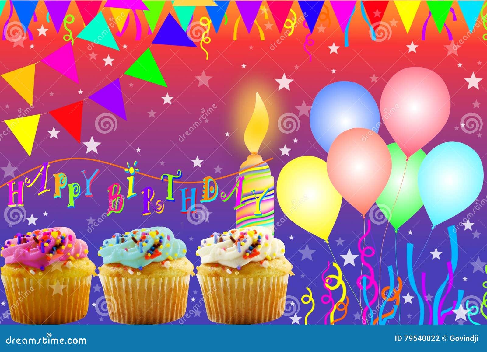 Birthday greeting card stock illustration illustration of download birthday greeting card stock illustration illustration of decoration 79540022 m4hsunfo