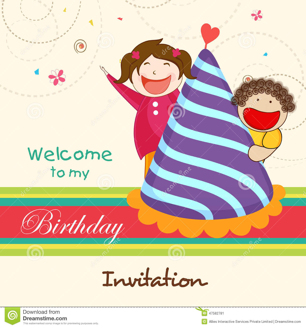 Birthday invitation cards for kids kubreforic birthday invitation filmwisefo