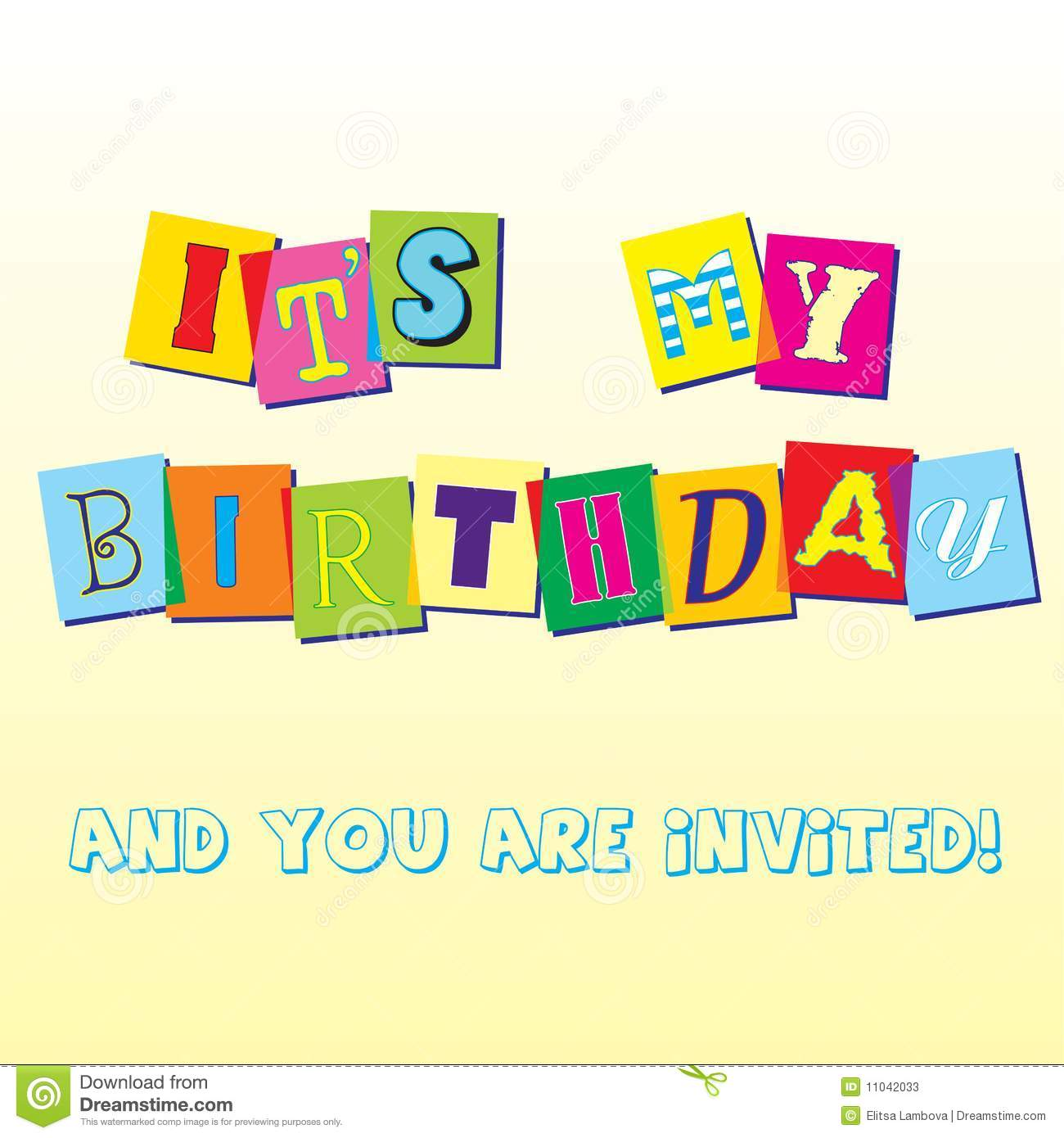 Cupcake Party Invitation Royalty Free Image Image 9987916 – Birthday Invite Template