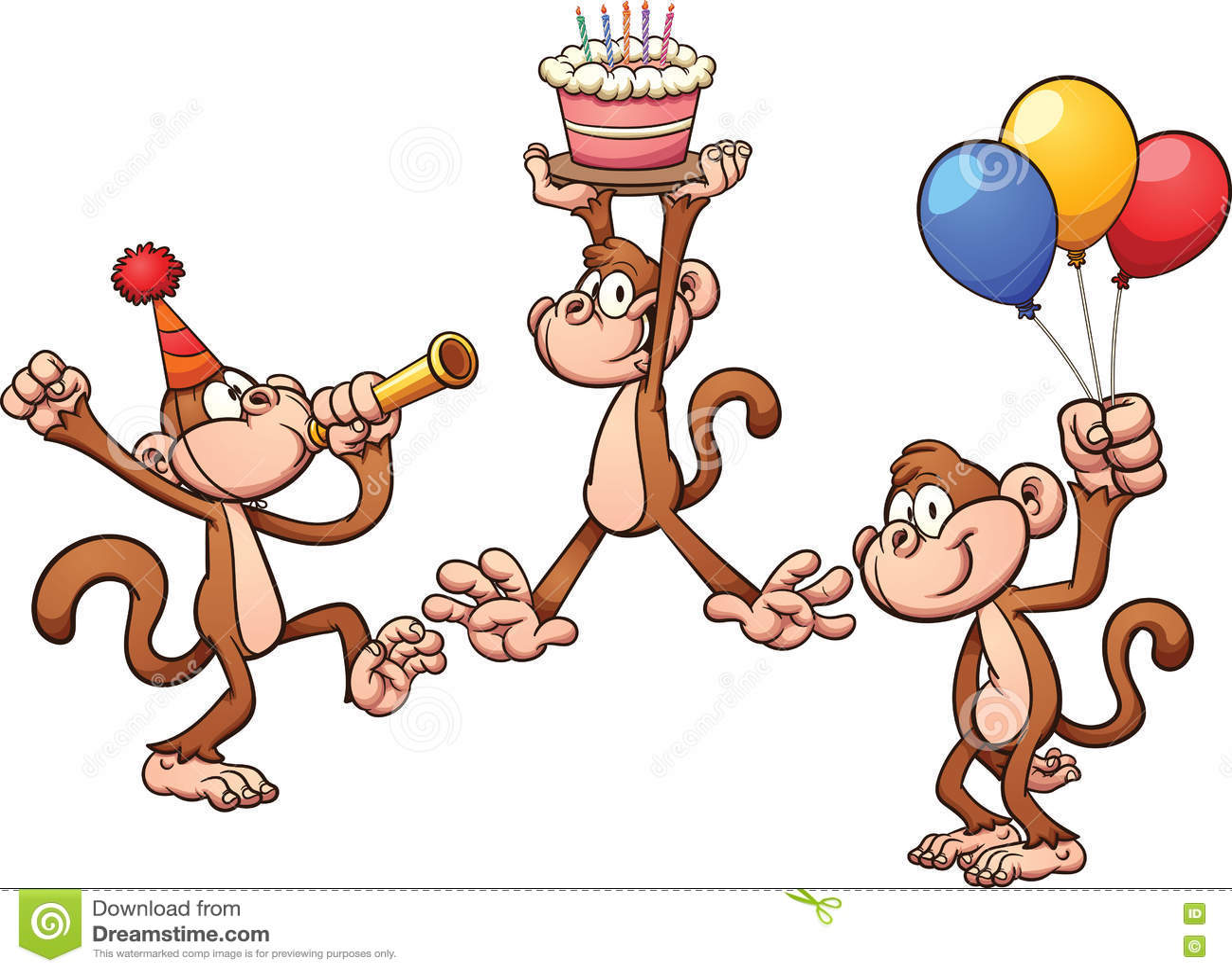 Поздравления от обезьян