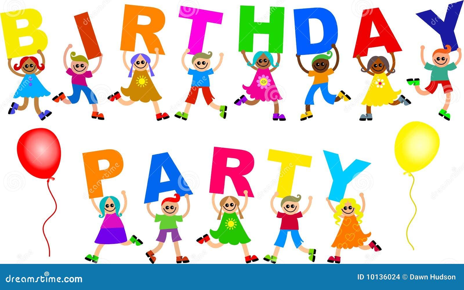 Birthday Party Stock Illustration Illustration Of Happy 10136024