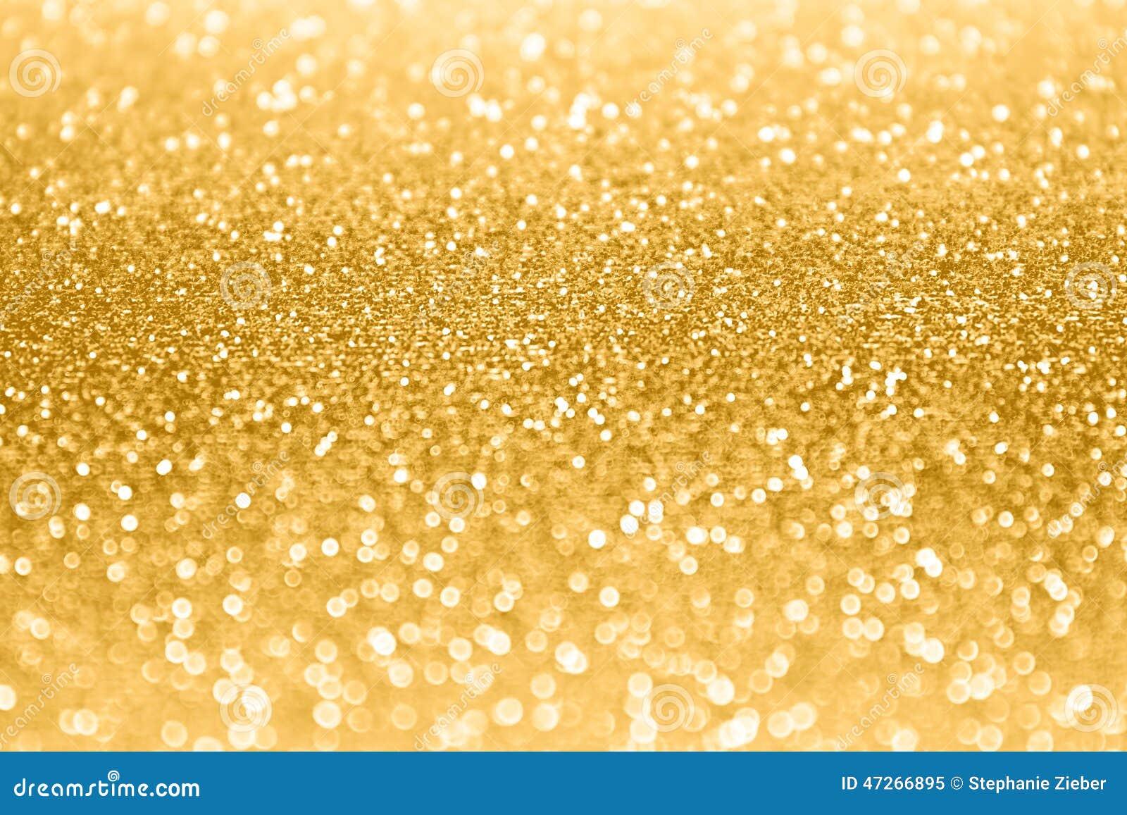 Gold Glitter Sparkle Confetti Background Stock Photo ...