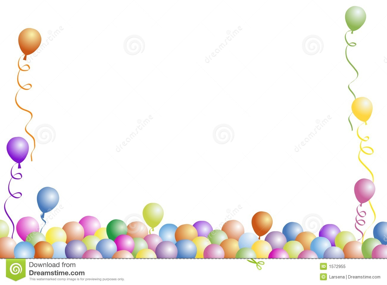Clipart Balloon Borders Free