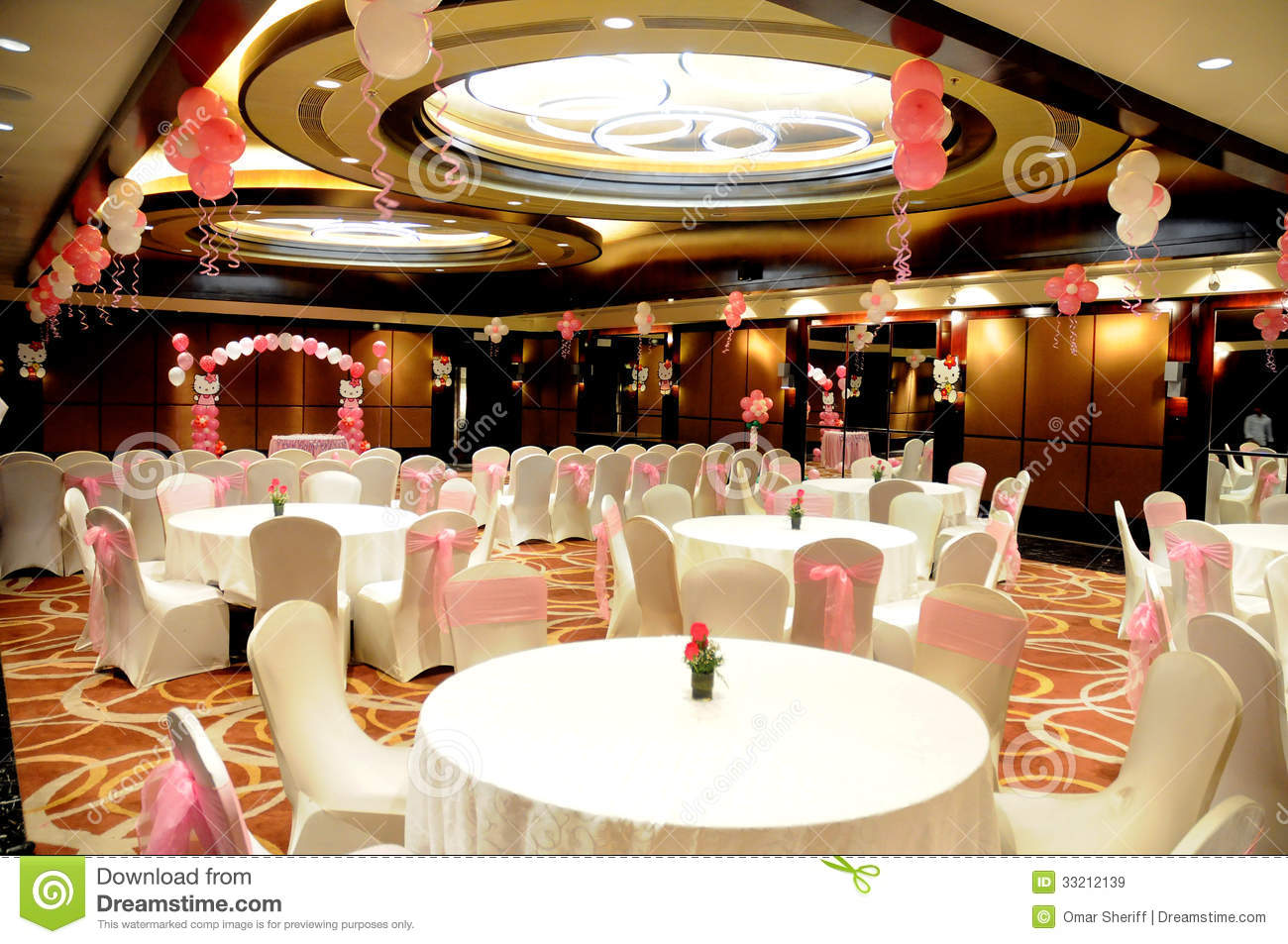 Birthday Party Hall Royalty Free Stock Images Image
