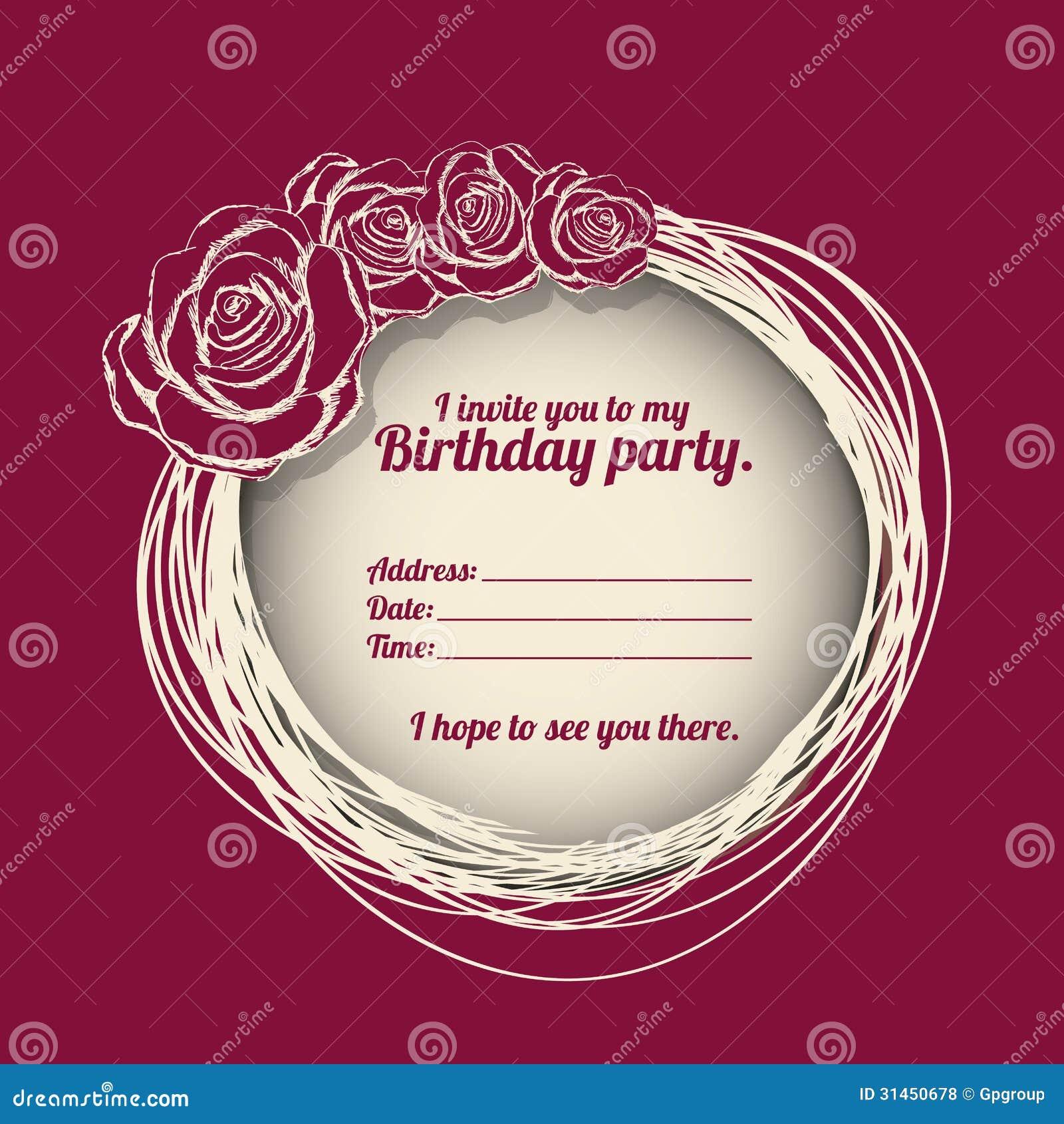 30Th Invitation Templates for adorable invitations ideas