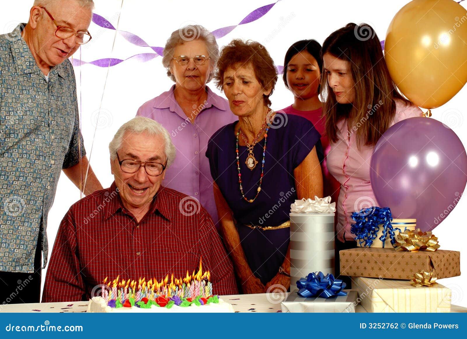 Birthday party senior