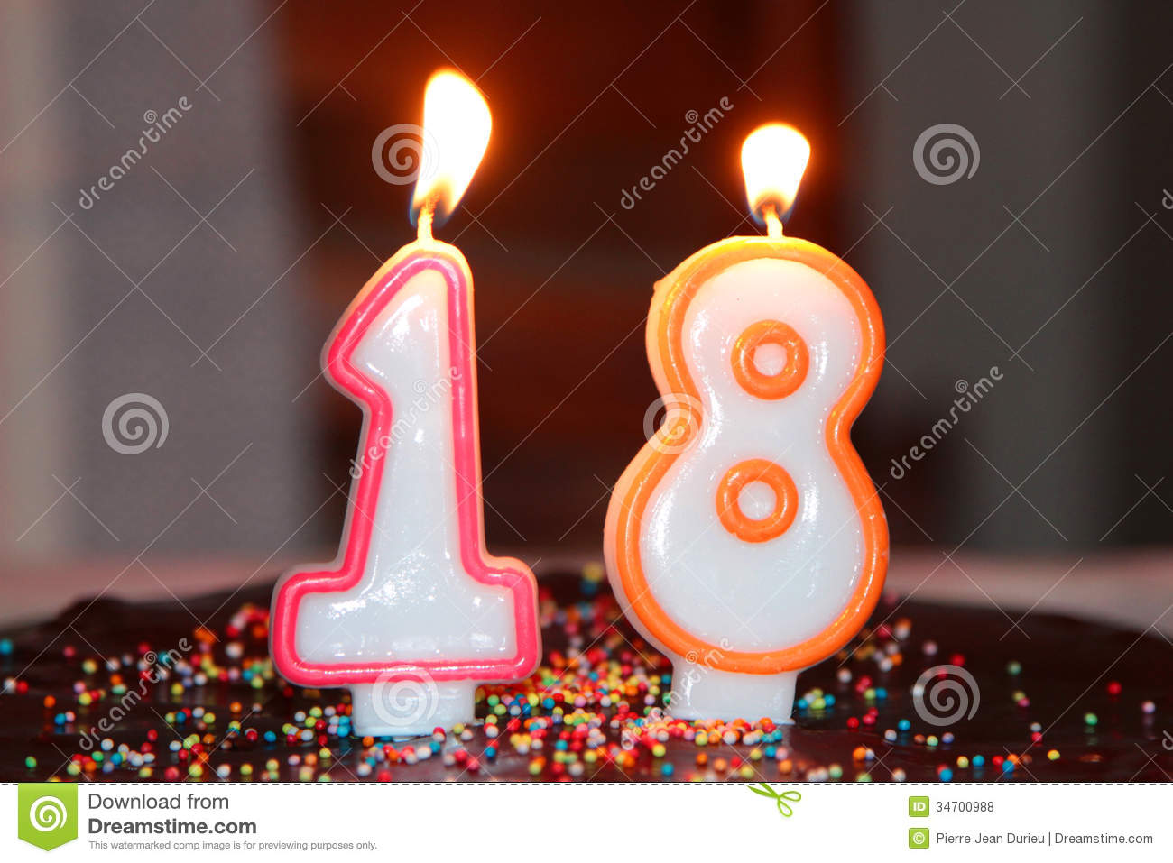 Birthday S Candles Royalty Free Stock Photos Image 34700988