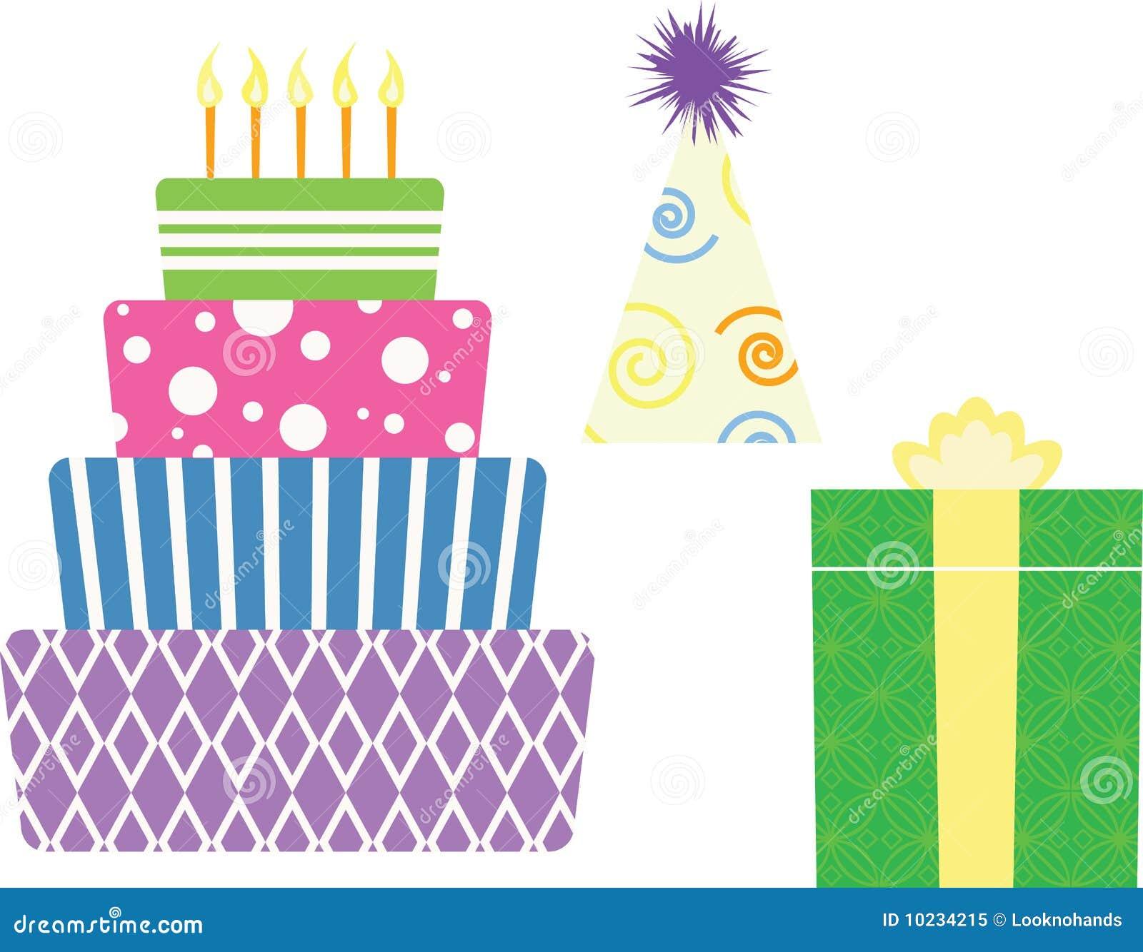 Birthday Symbols Royalty Free Stock Photo