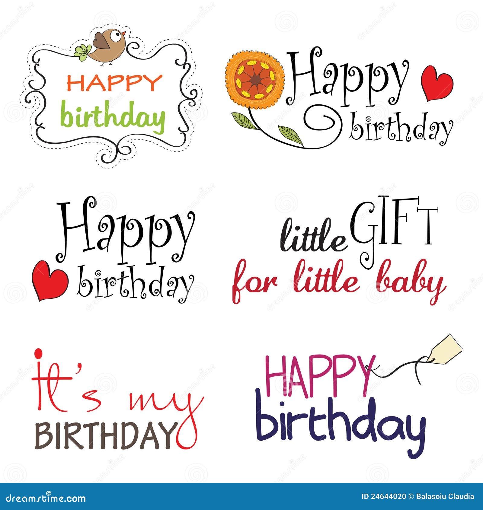Как написать на английском поздравление с днём рождения